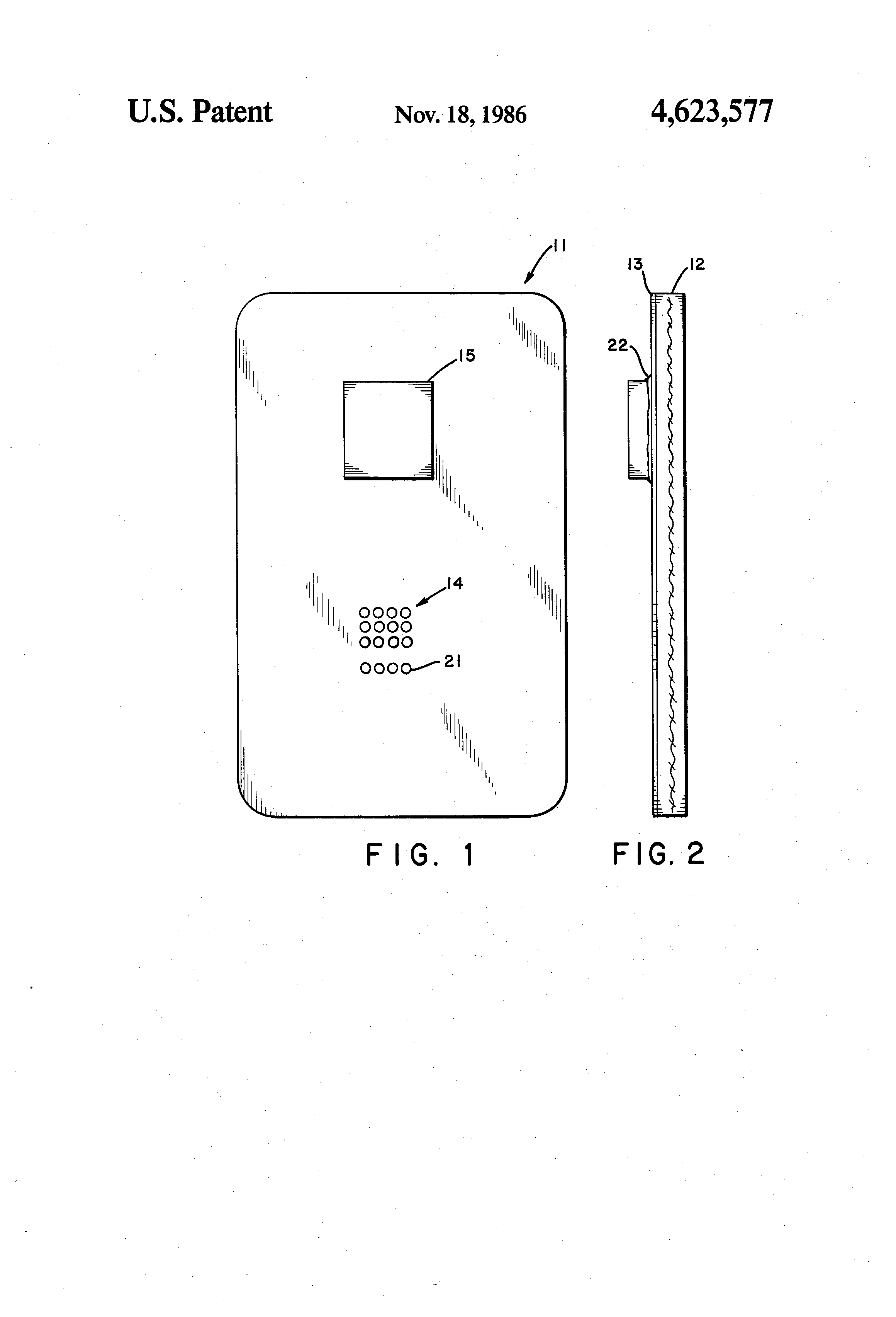 Patent US4623577 - Circuit board made from cross-linked