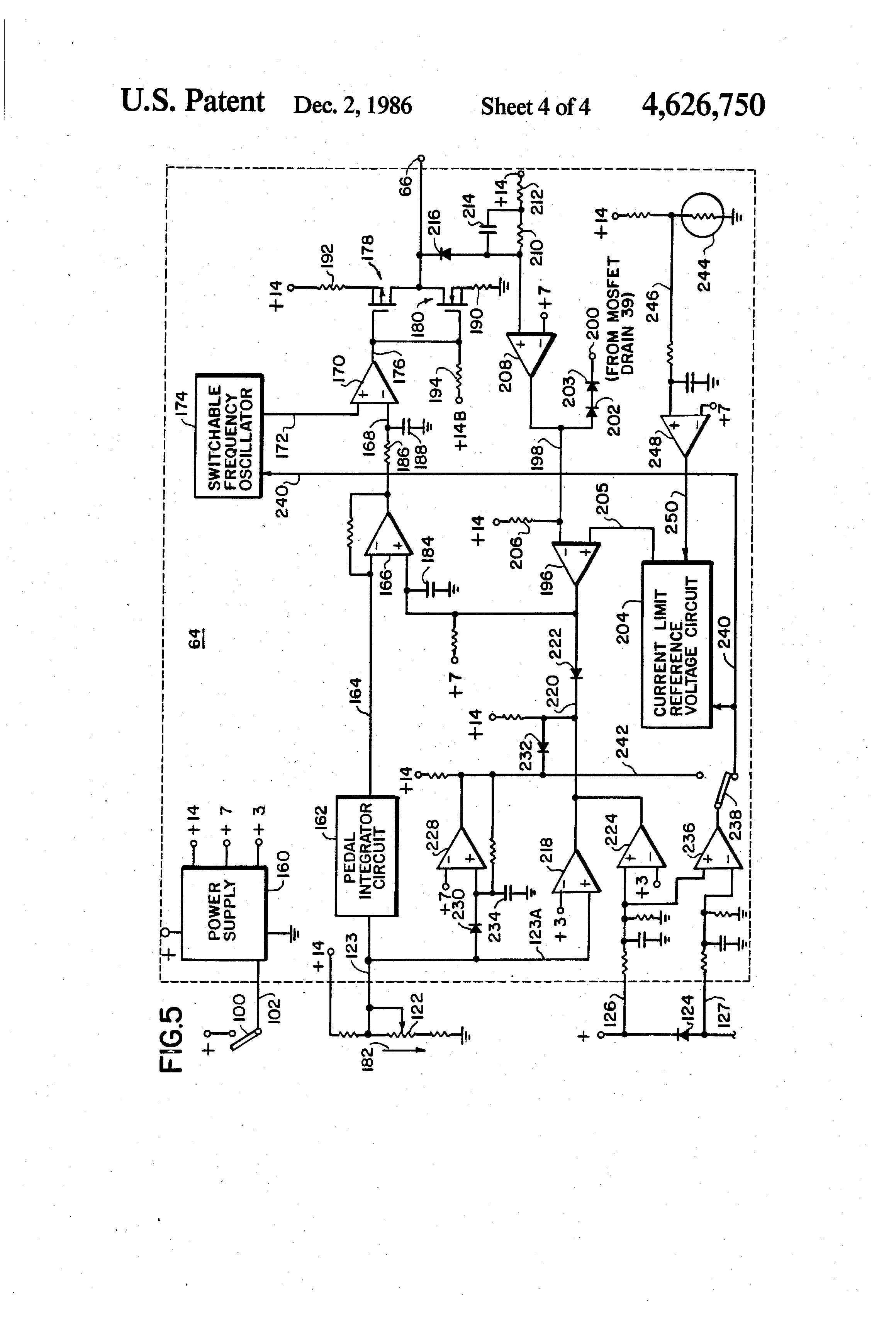 patent us solid state d c motor control patents patent drawing