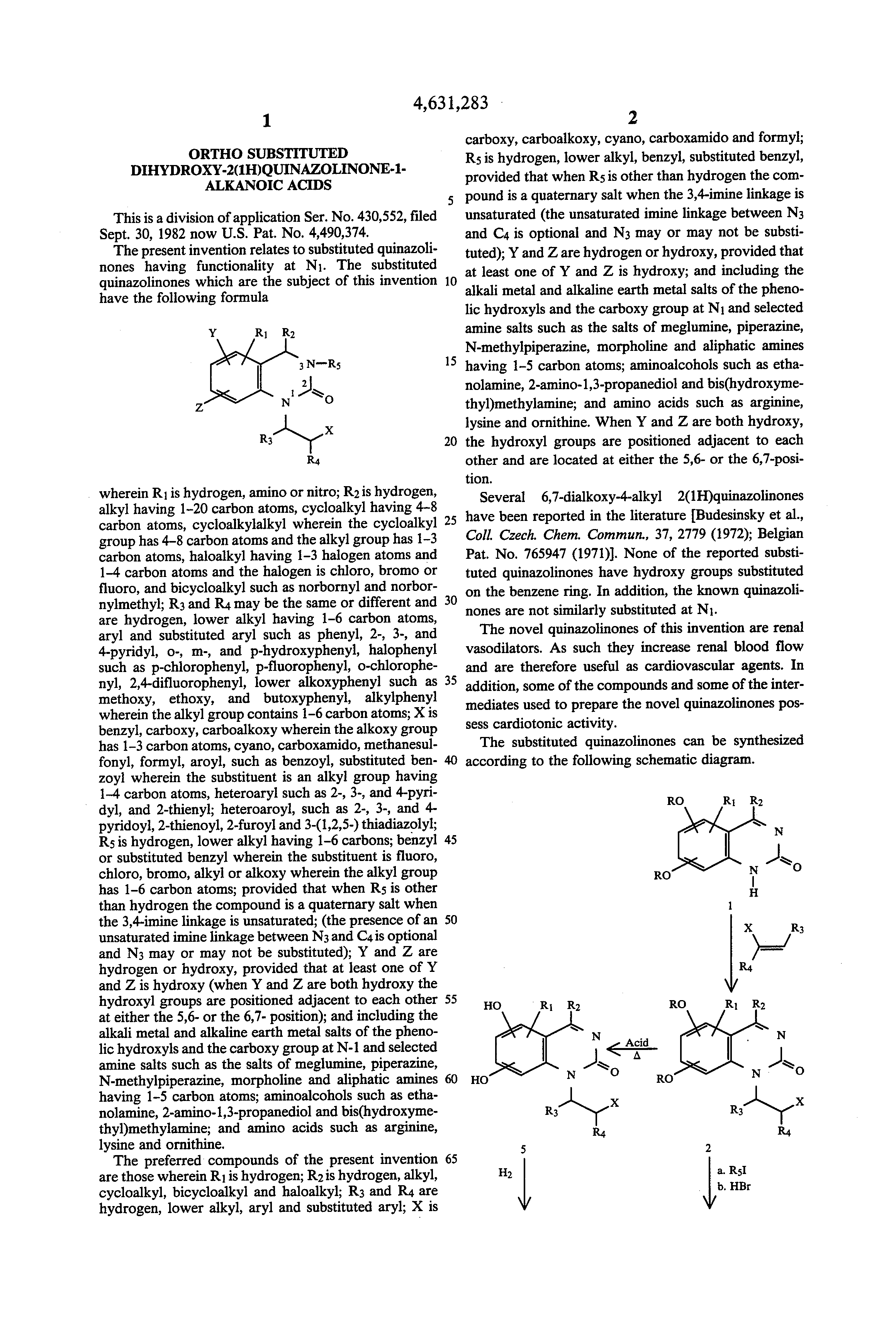 synthesis of substituted quinazolinones Synthesis of 1-substituted-2-chloromethyl-4-(1h)-quinazolinones antimicrobial agents april 2001 indian journal of heterocyclic chemistry 1-substitued-2-chloromethyl-4 (1h)- quinazolinones (iii) were synthesized in good yields by the reaction of 2-phenylaminobenzamide with excess of acid chloride under mild conditions.