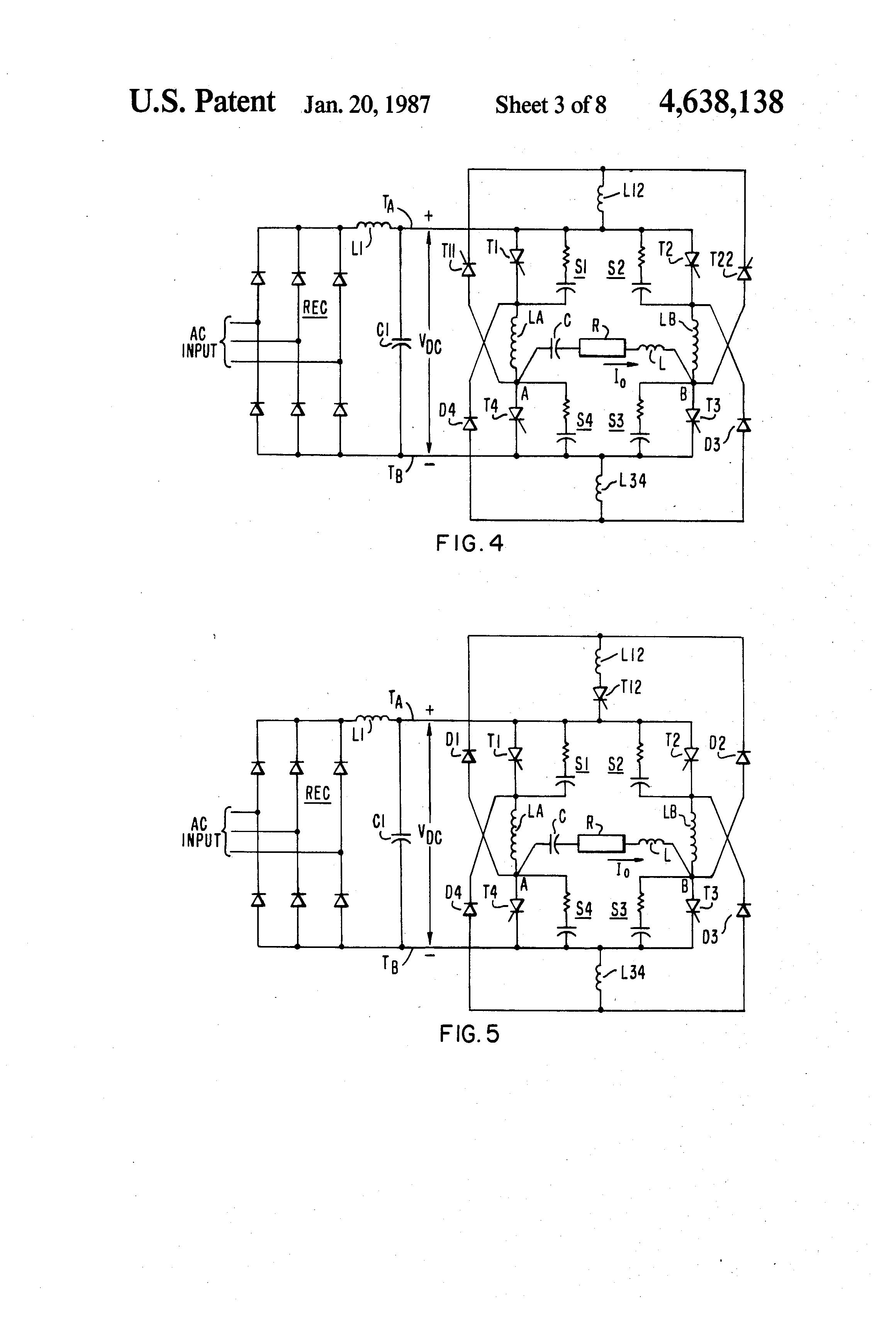 patent us4638138