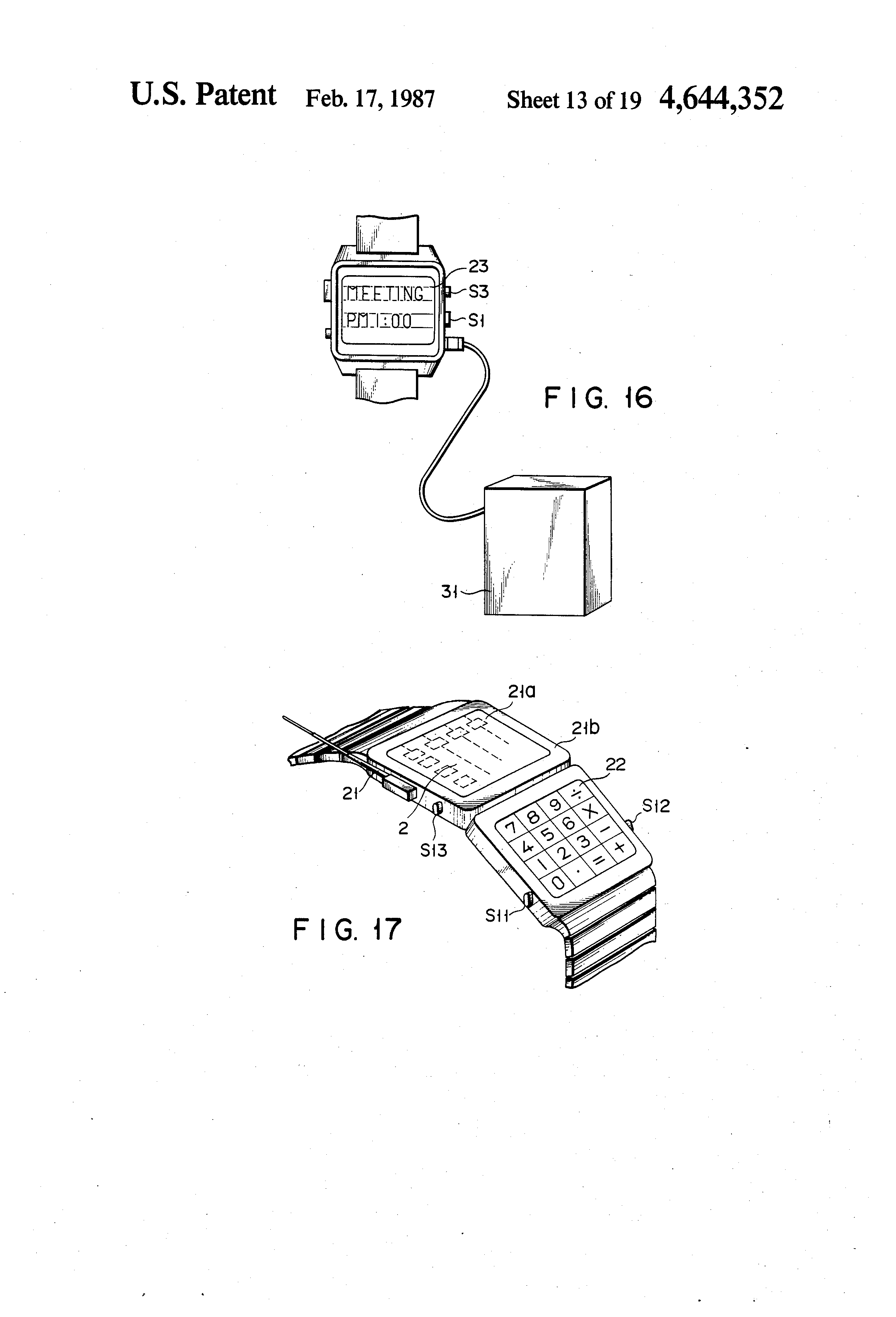 patente us4644352