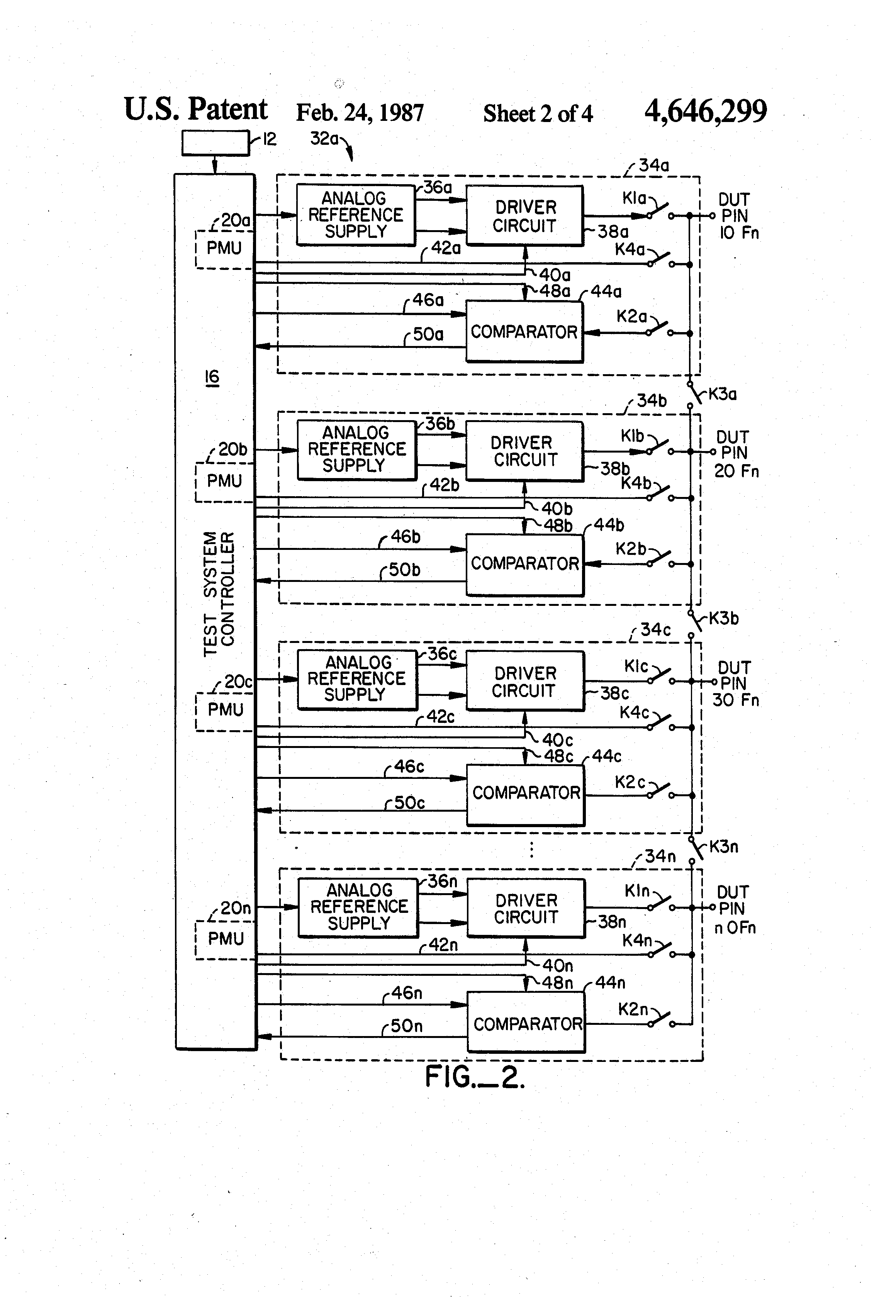 Patent Us4646299 Method And Apparatus For Applying Monitoring Variable Resistor Circuit Diagram Moreover Voltmeter Ammeter Schematic Drawing