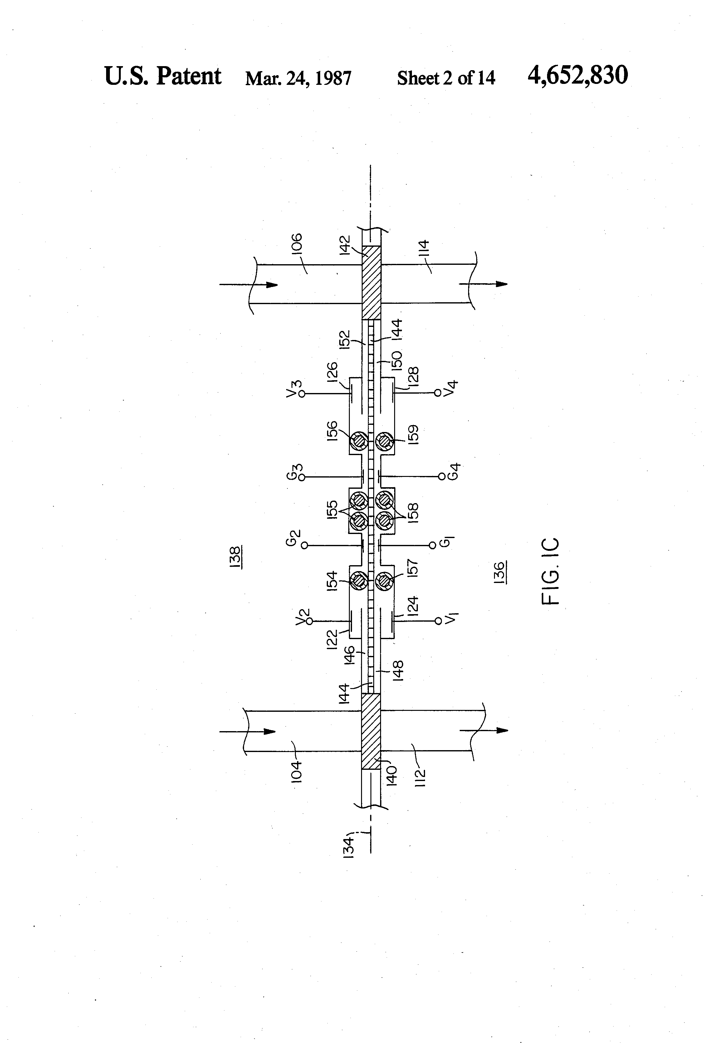 Patent Us4652830 Analyzer For Comparative Measurements Of Bulk Isolate Ground Amplifier By Lf356 Drawing