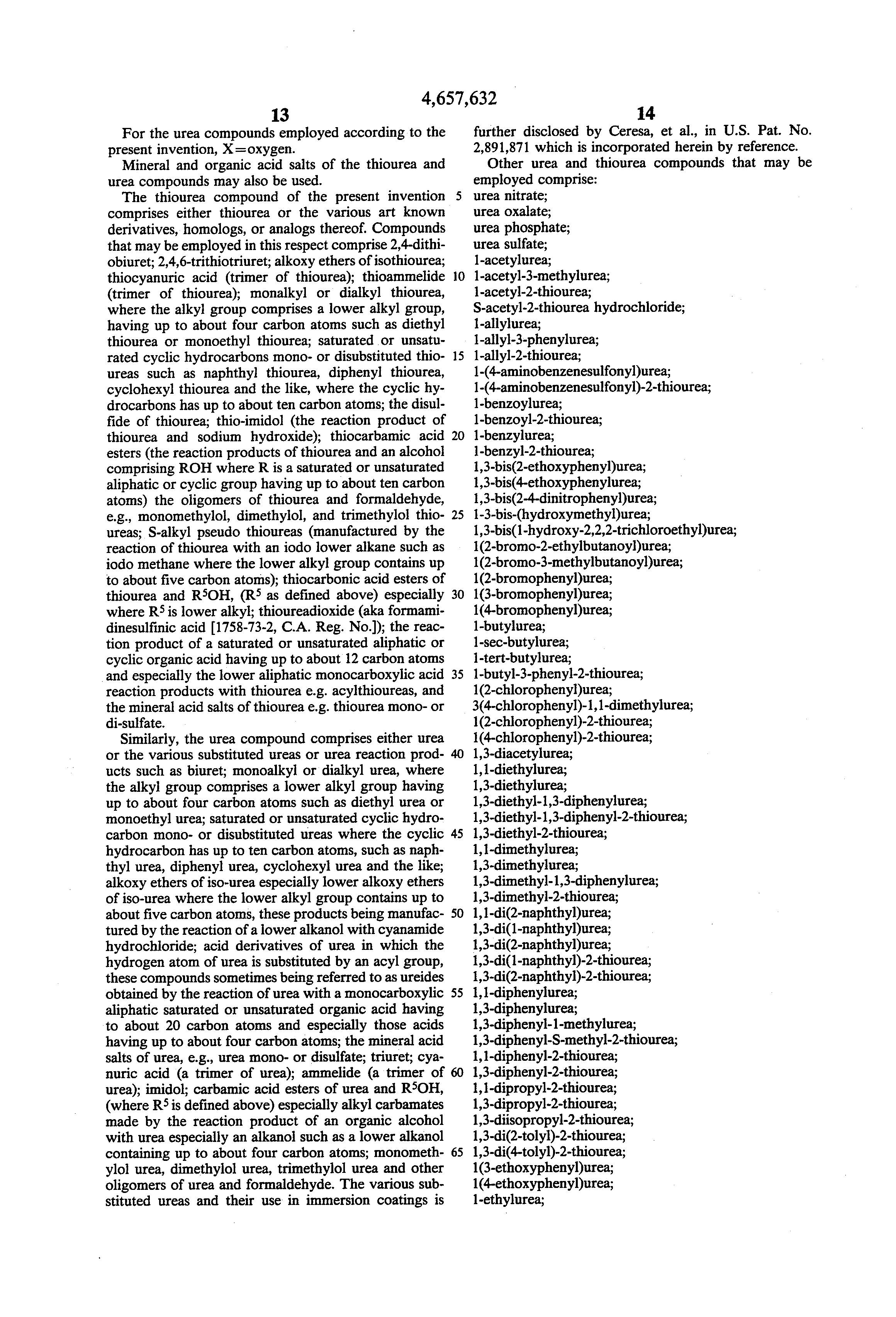 Patent US4657632 - Use of immersion tin coating as etch