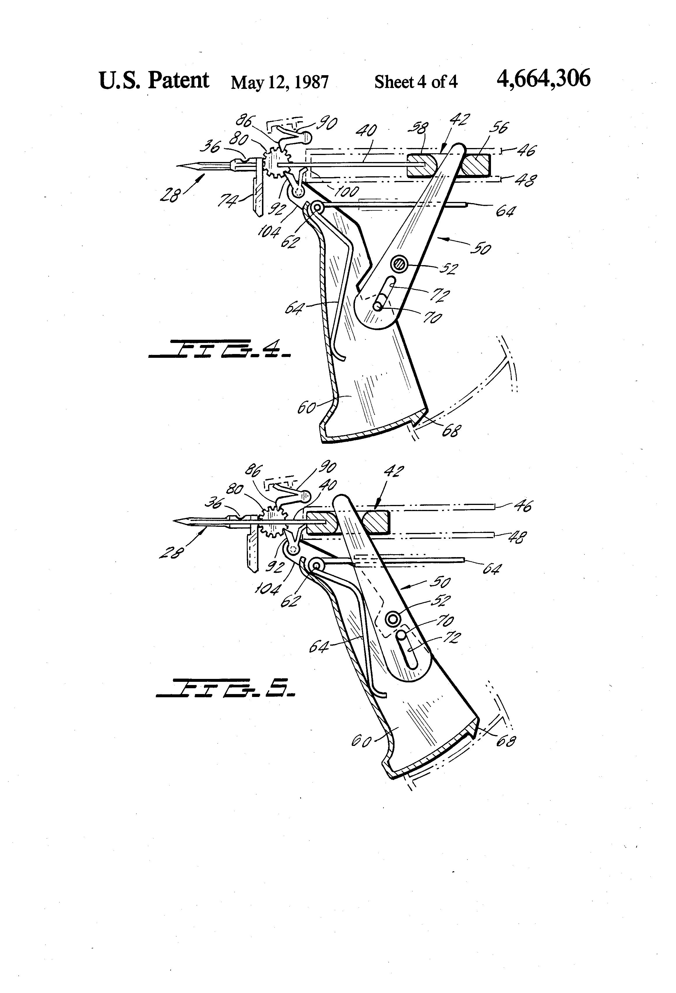patent us4664306 - tag attacher