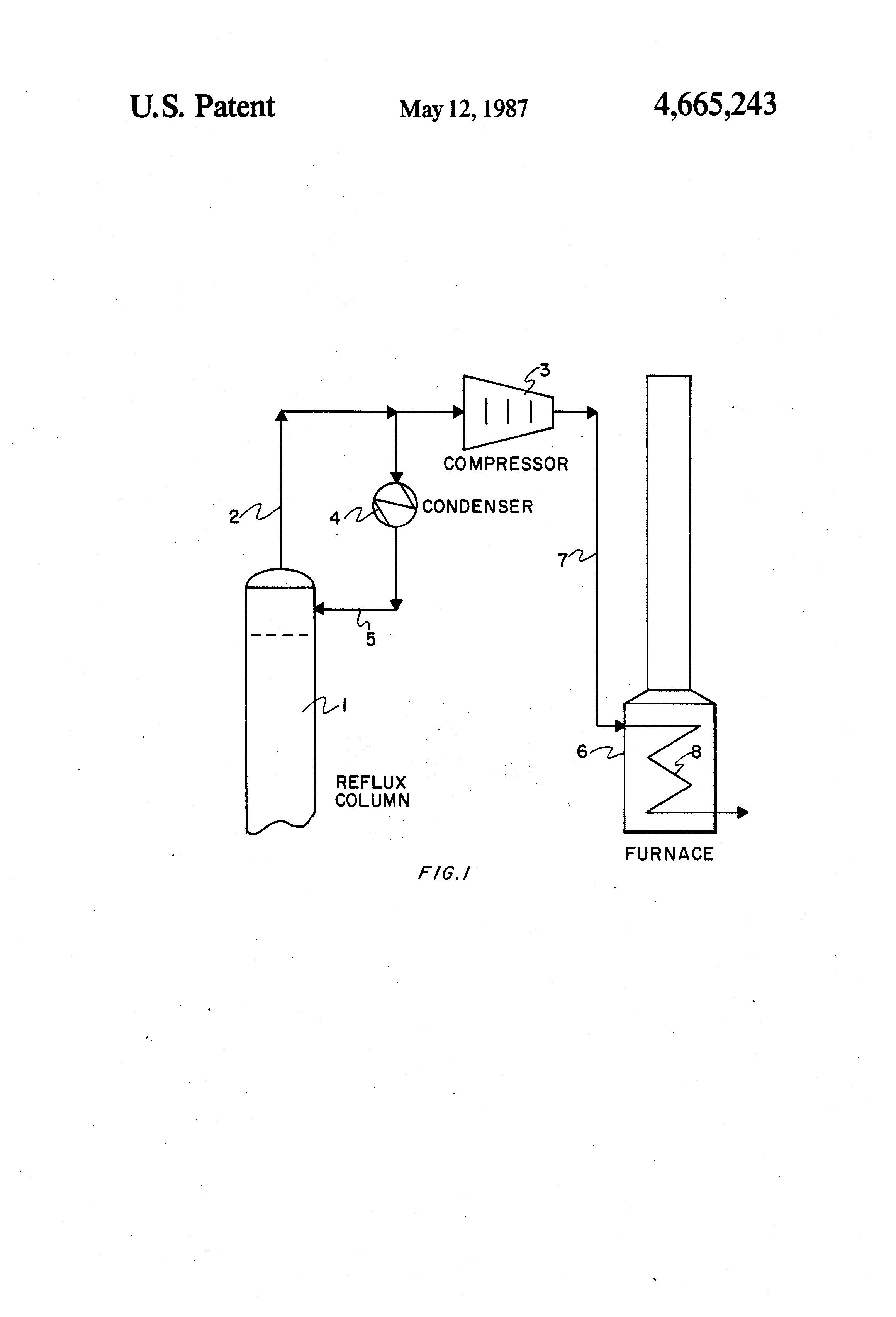 Patent Us4665243 Process For Preparing Vinyl Chloride