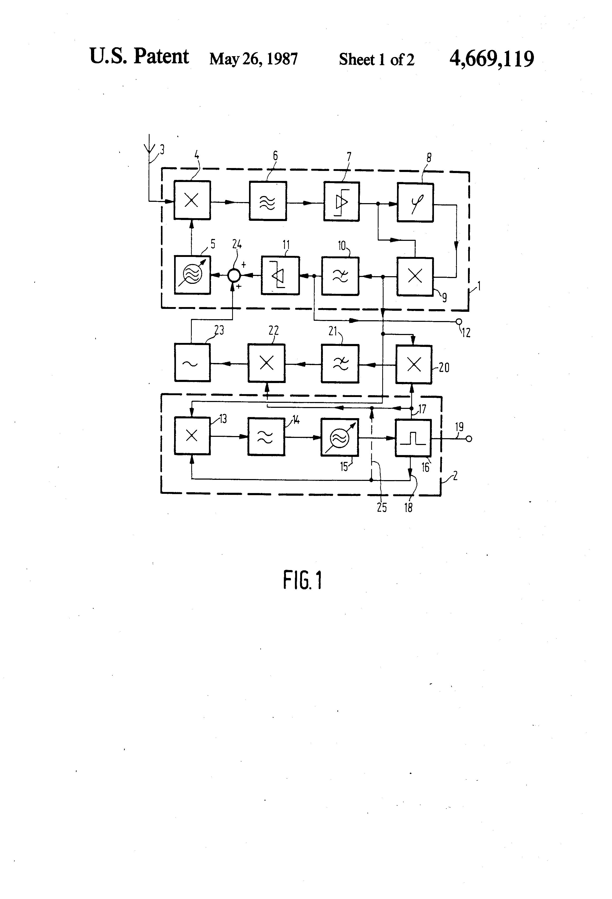 Patent Us4669119 Fm Stereo Receiver Google Patents Radio Using Tda7000 Circuit Diagram Drawing