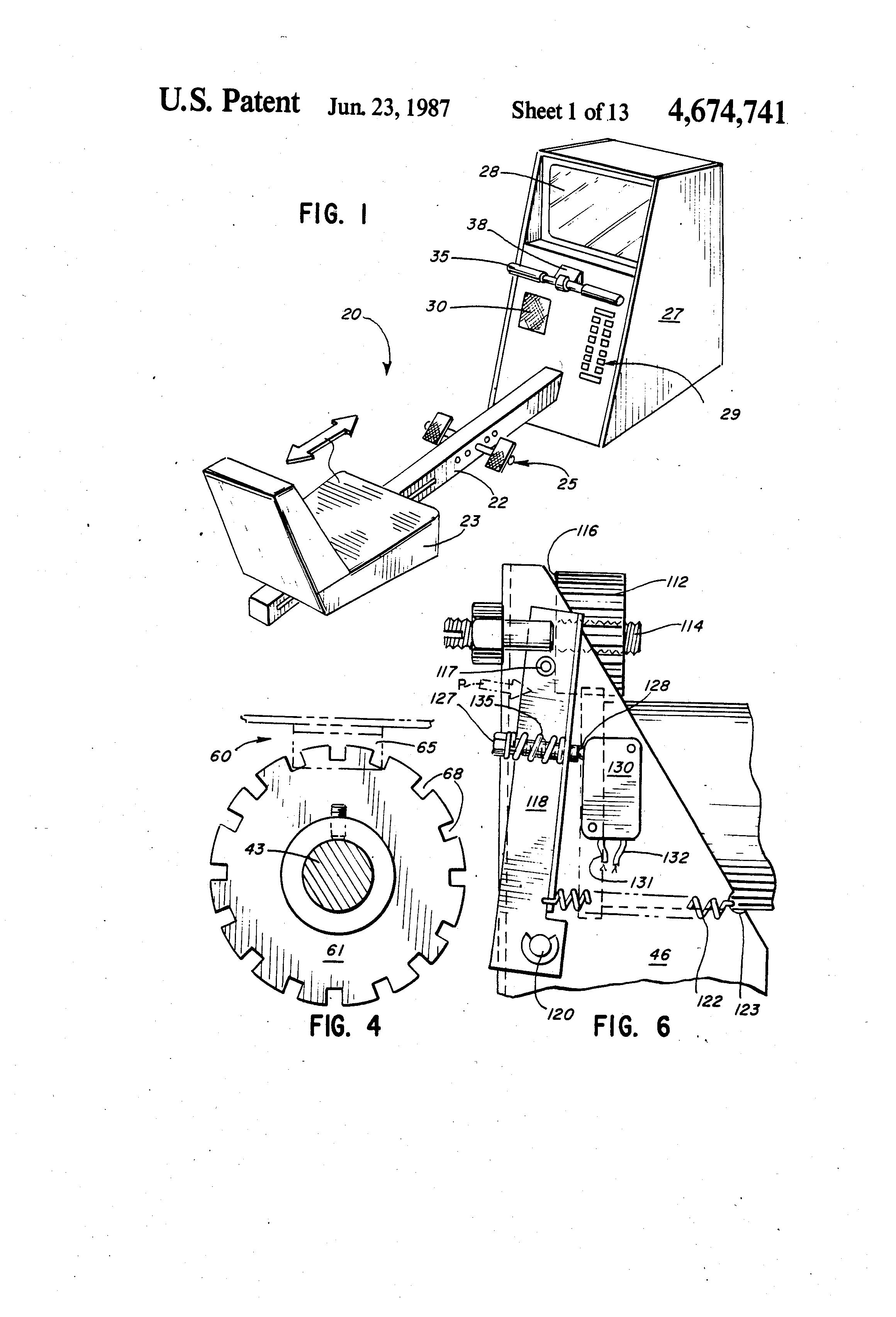 rowing machine generator