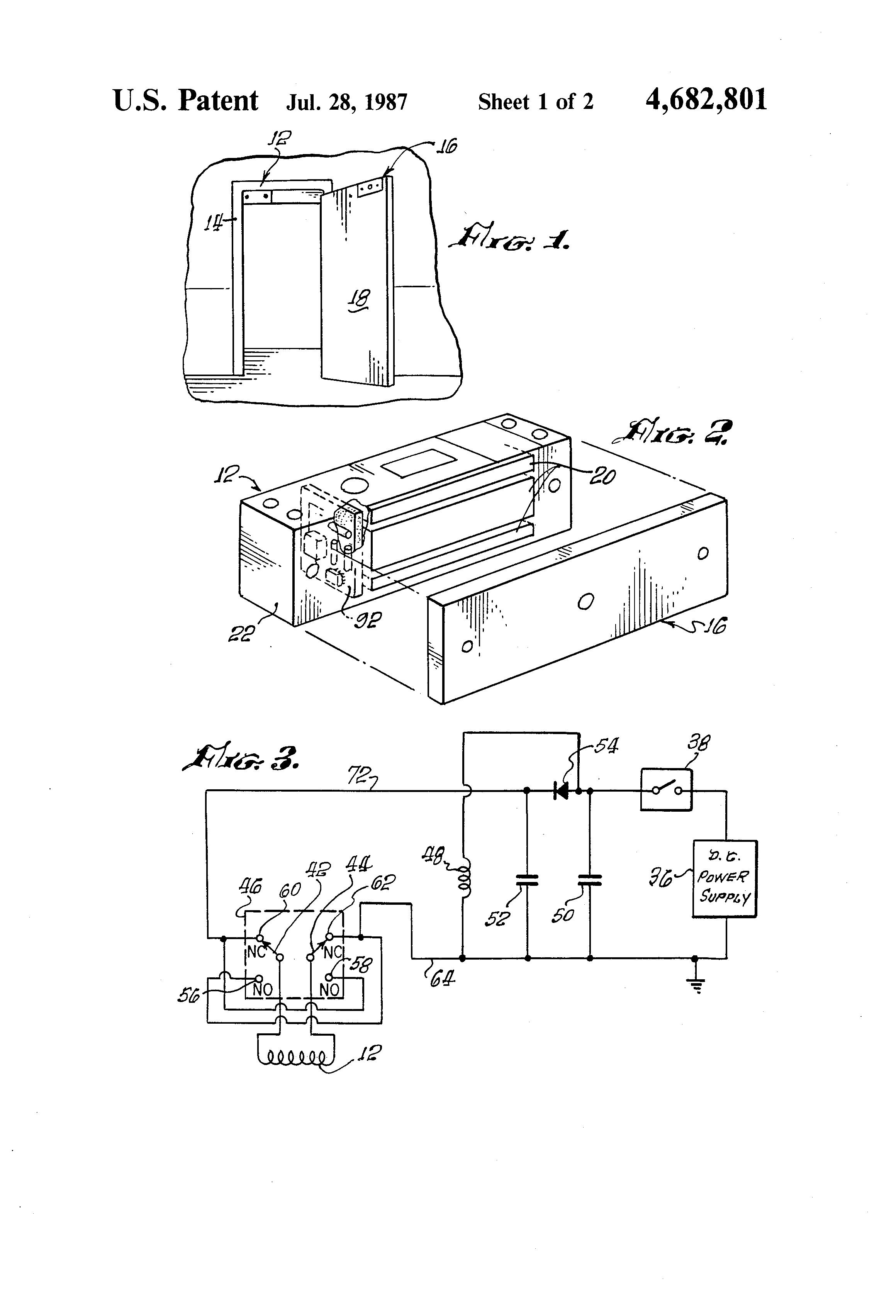 patent us4682801