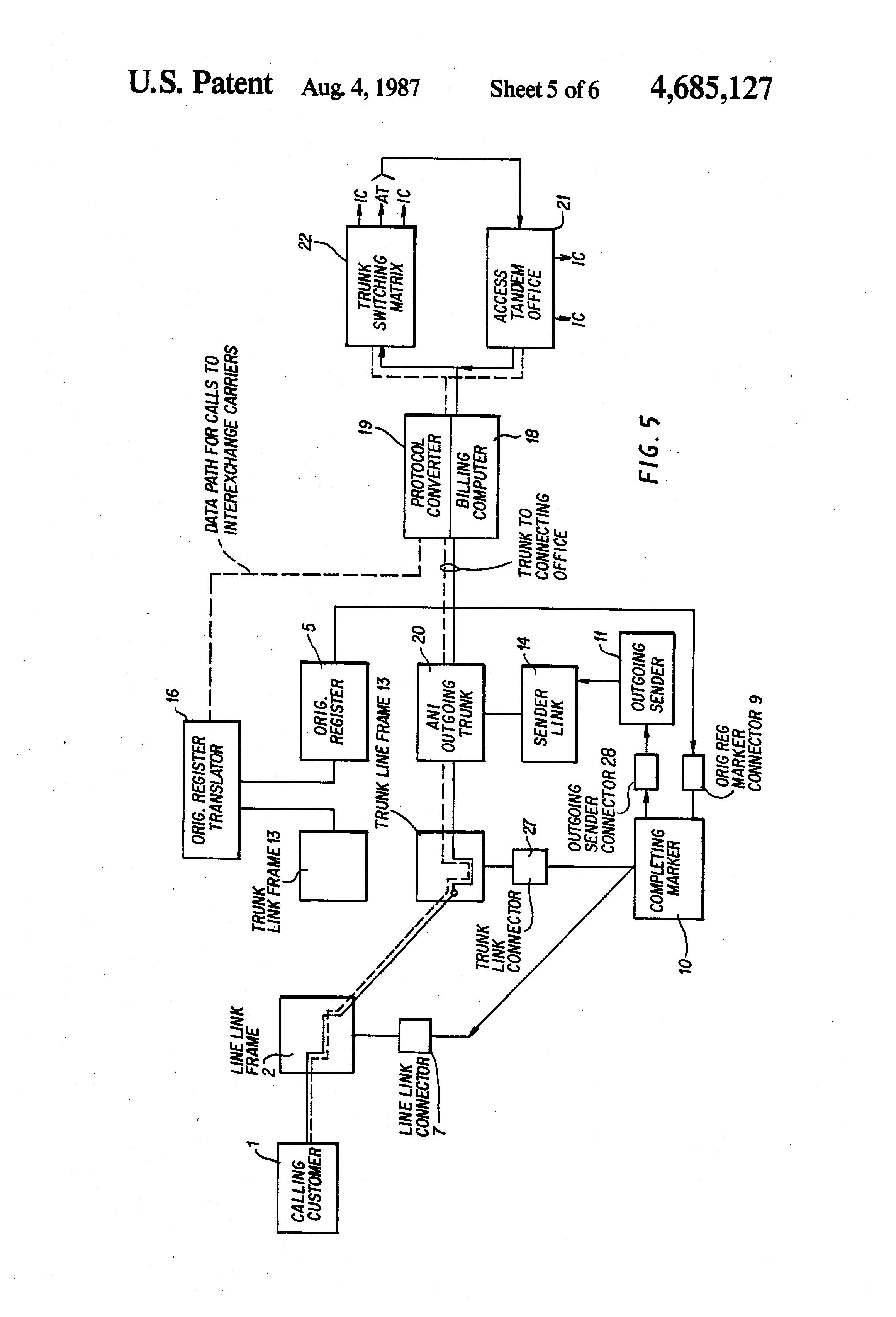 patent us4685127