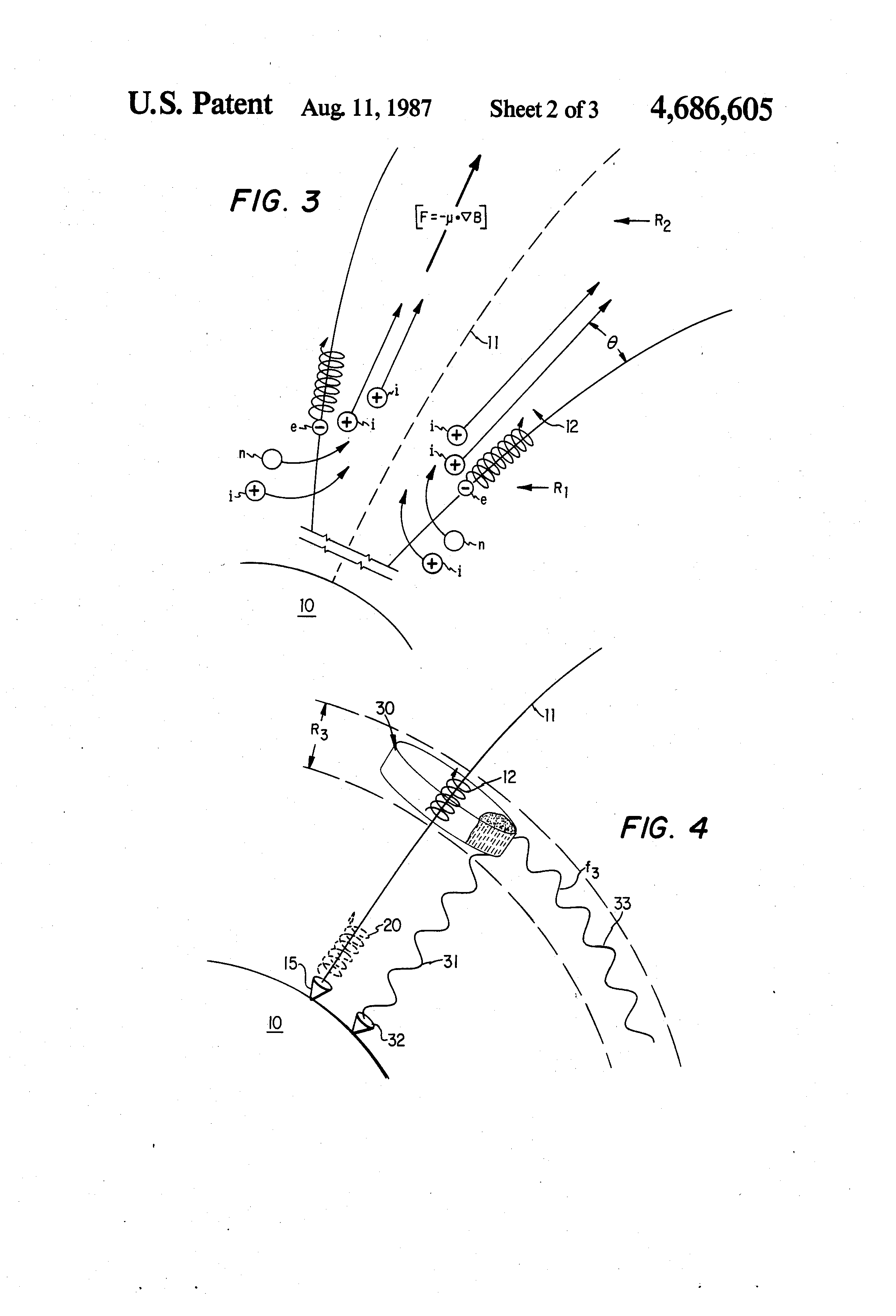 Method and apparatus for altering a region in the earth's atmosphere, ionosphere, and/or magnetosphere - Patent US 4,686,605 US4686605-2