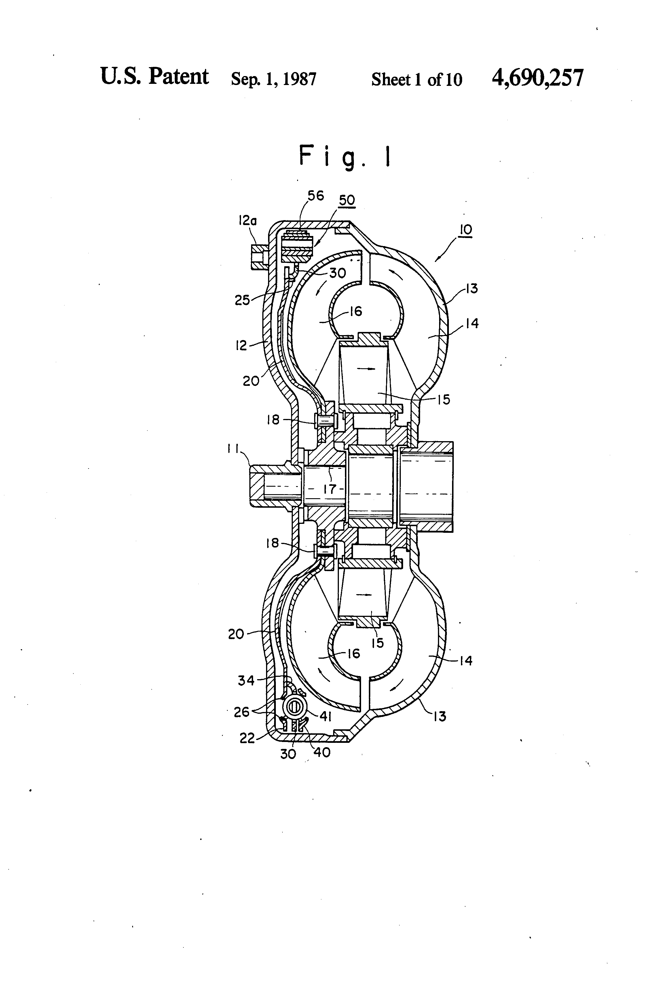 Patent Us4690257 Speed Responsive Centrifugal Clutch With A Serial Diagram Drawing
