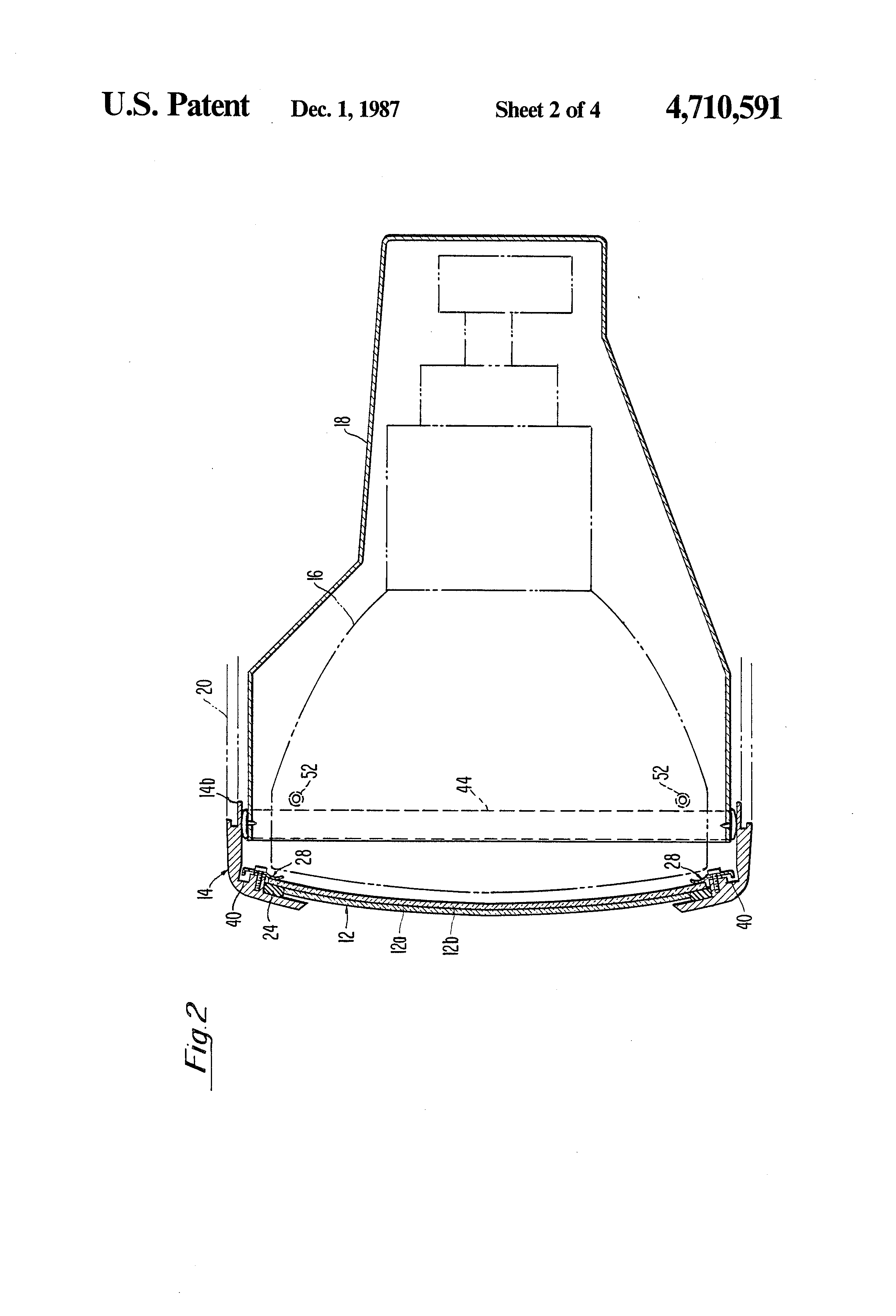 patent us4710591  rfi shielding assembly for cathode