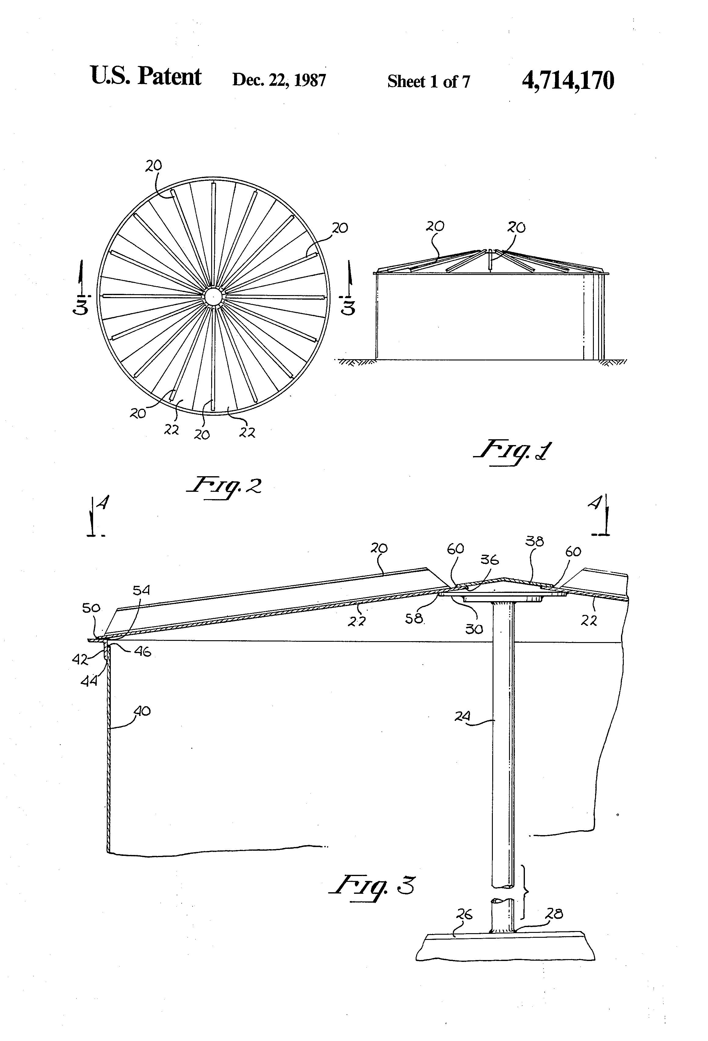 Frangible Roof Joint Patent Us4989752 Frangible Roof Joint