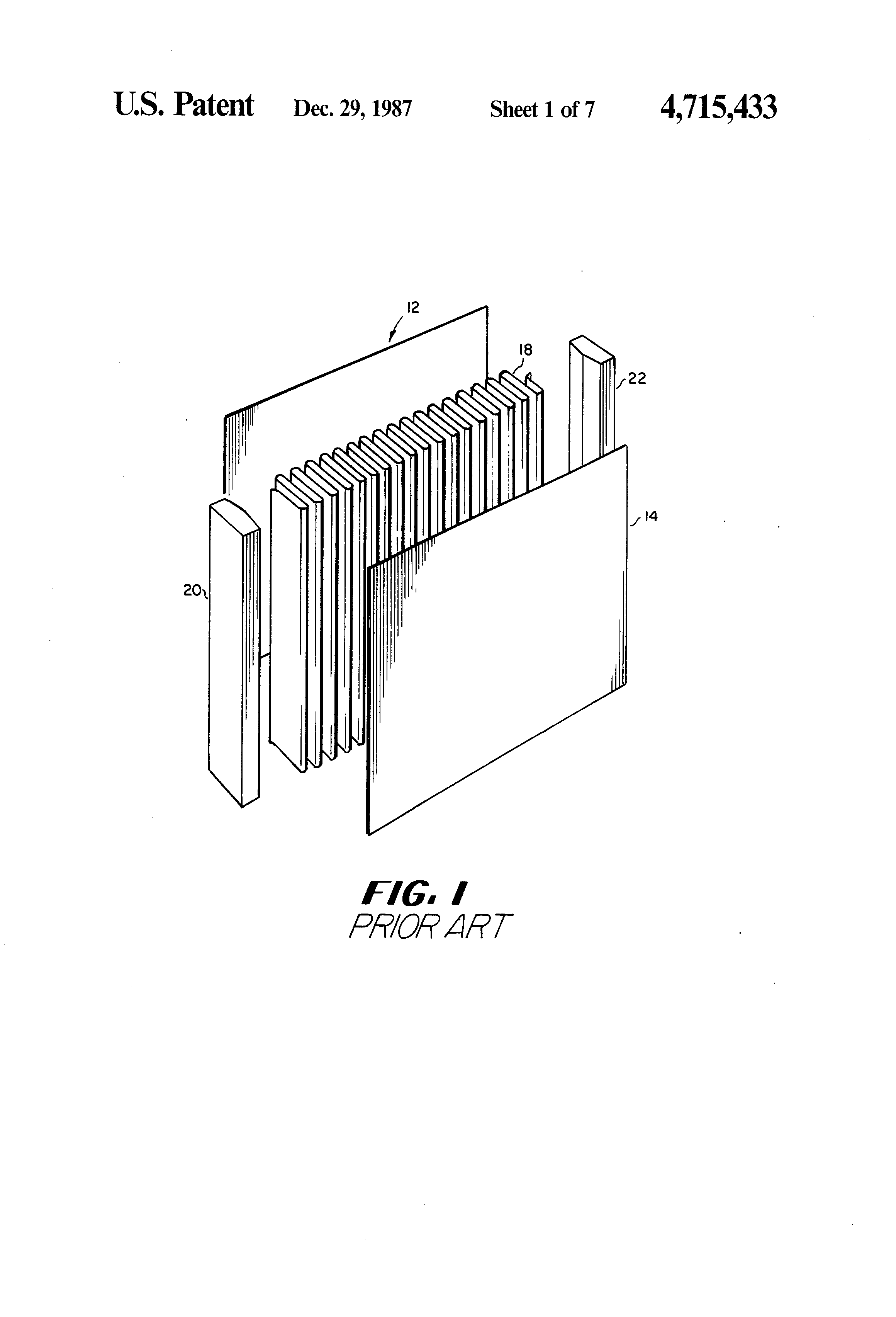 Patent US Reboiler condenser with doubly enhanced plates