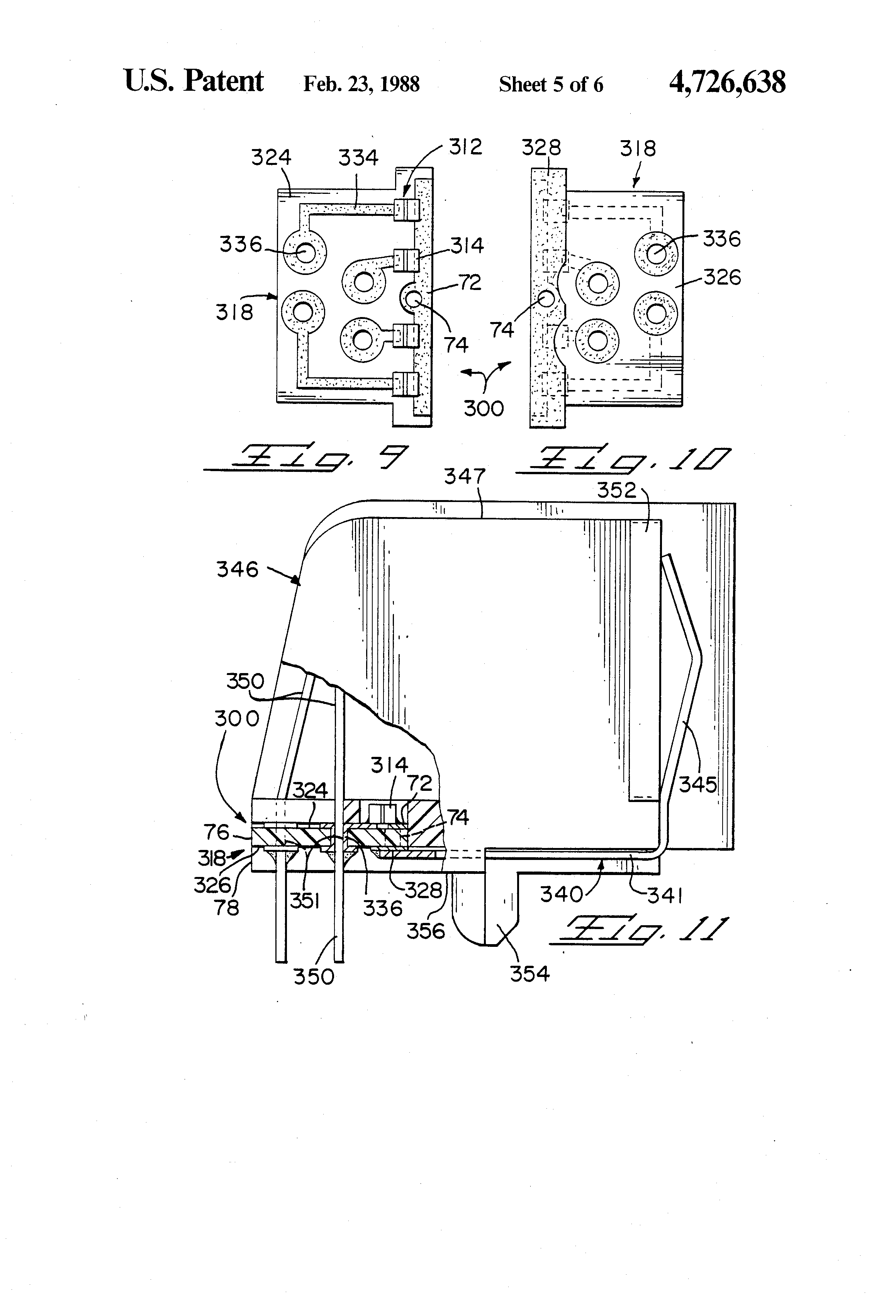 patent us4726638 - transient suppression assembly