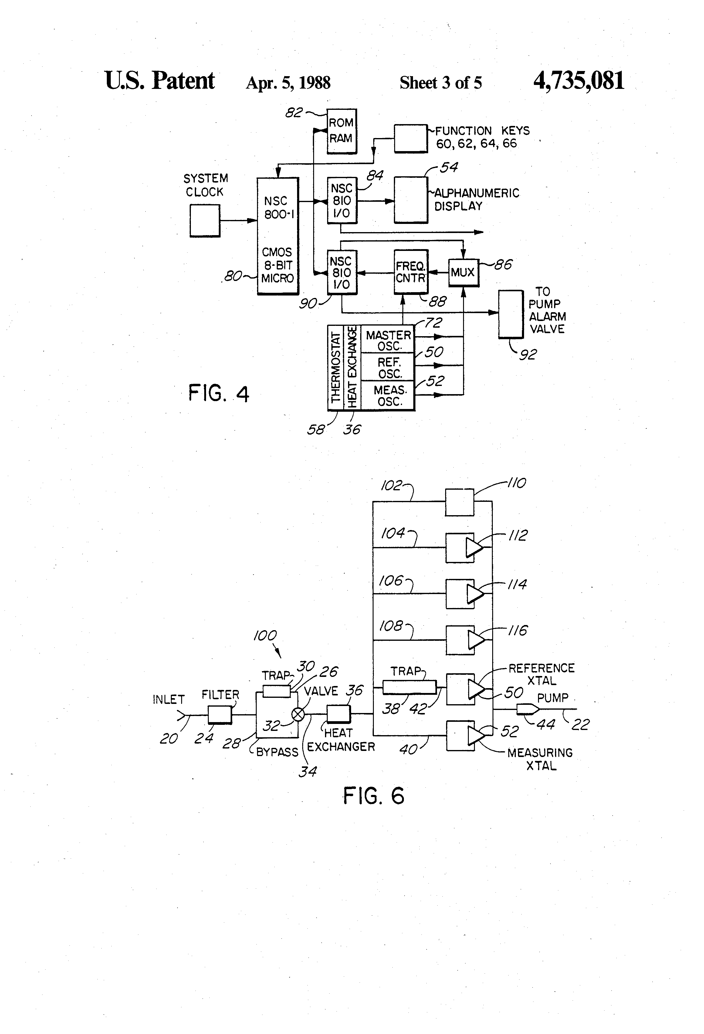 Patent Us4735081 Method And Apparatus For Detecting Presence Circuit With Lm3911 Integrated Temperature Measuring Drawing