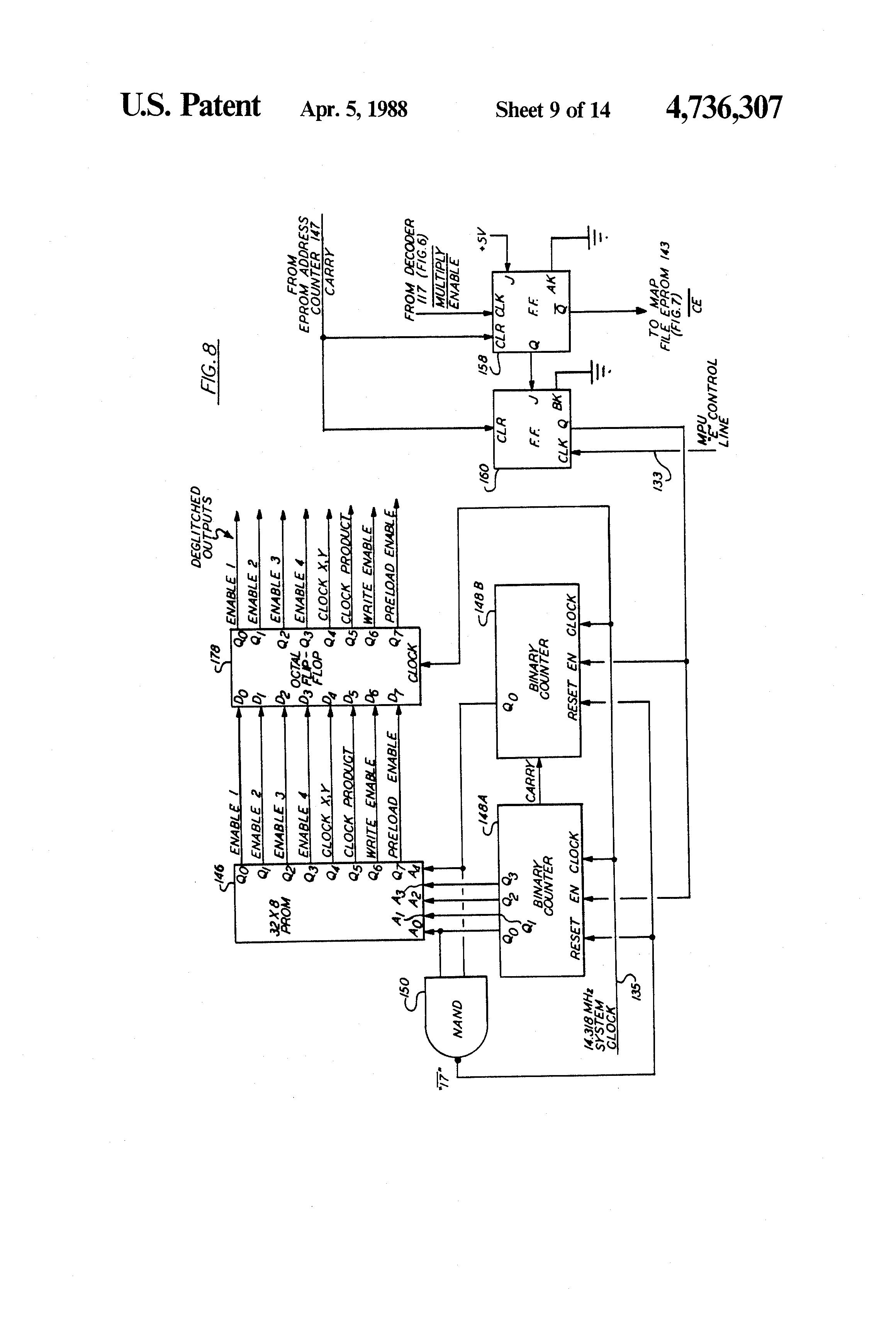 patent us4736307