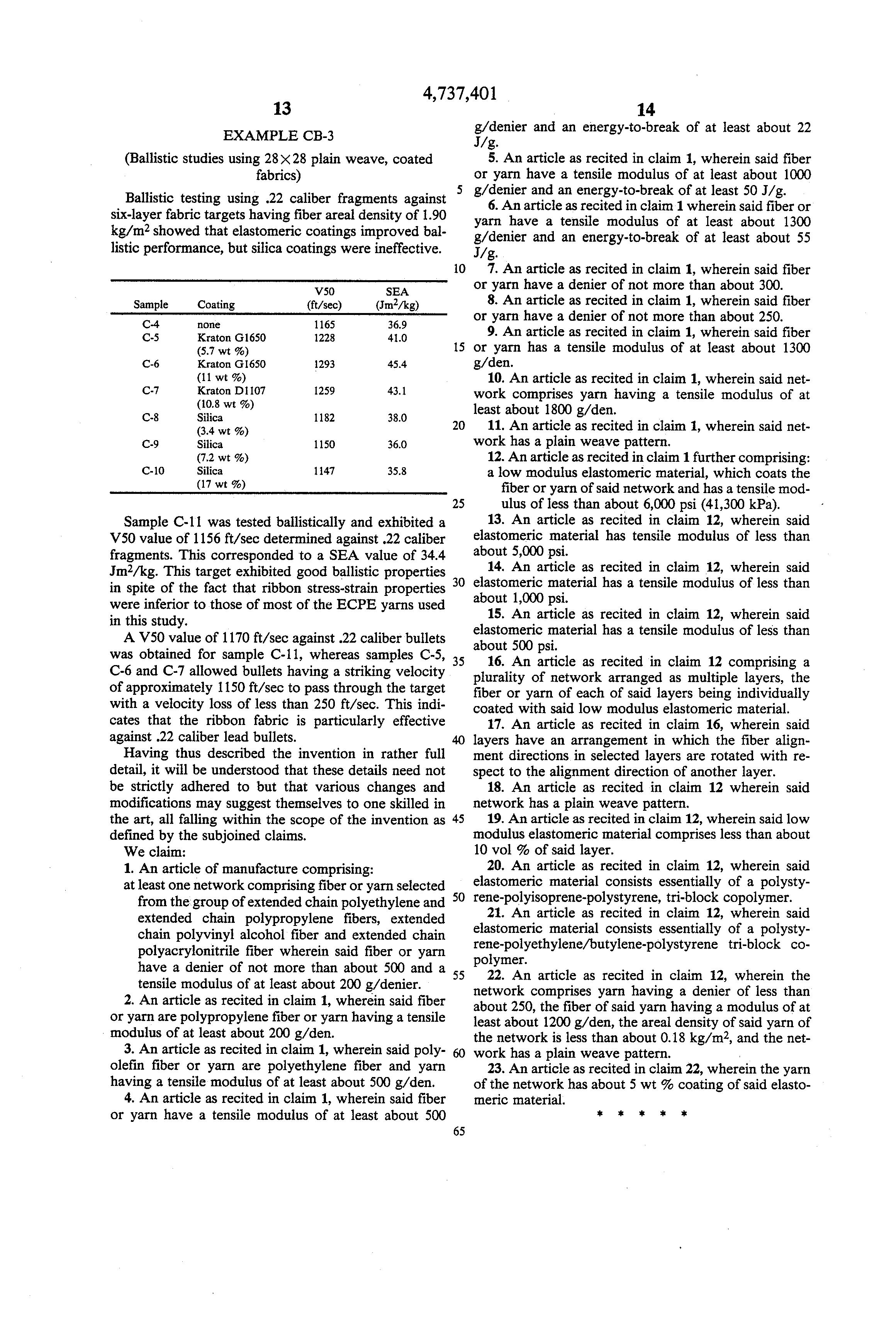 Laible penetration mechanics