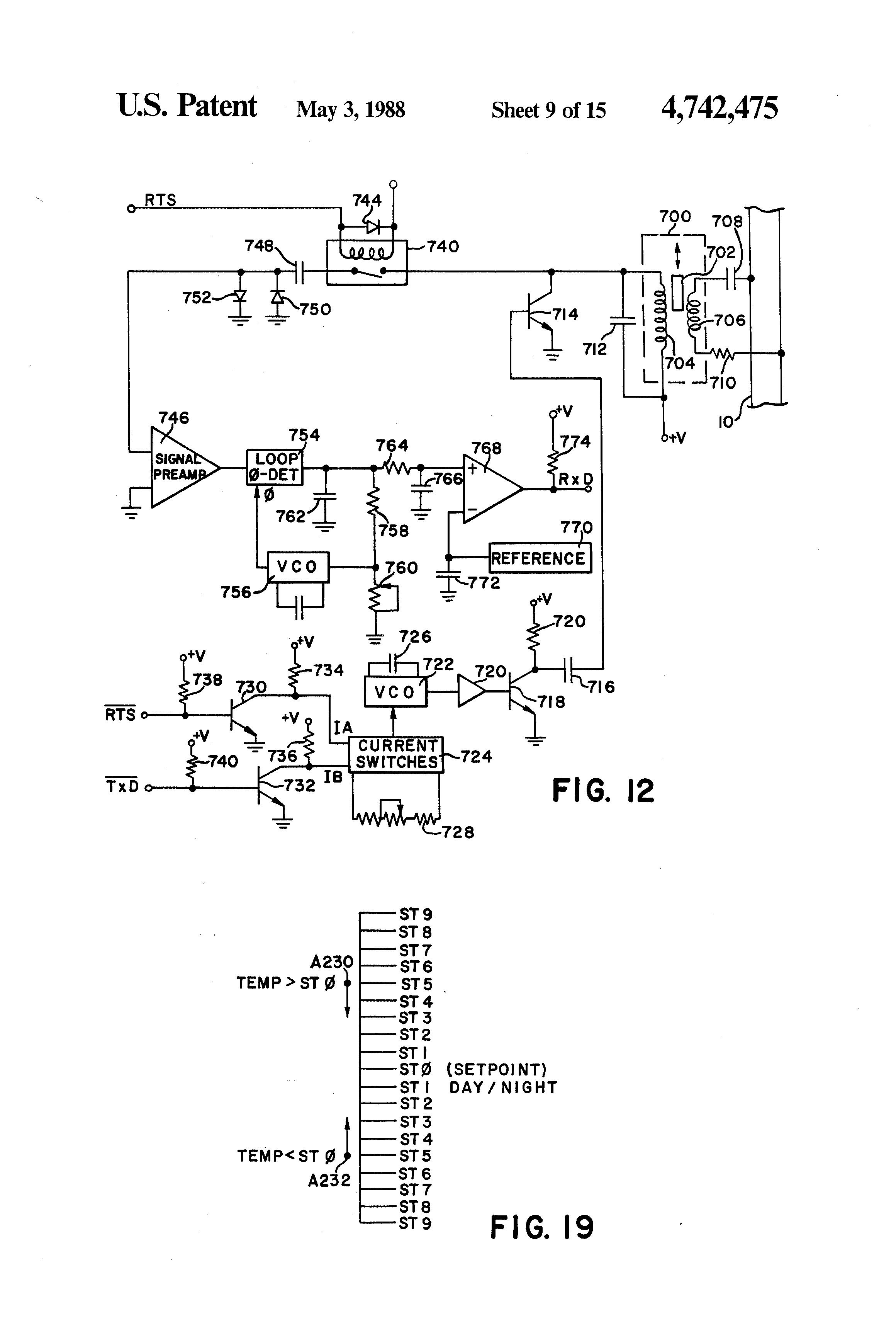 Patent Us4742475 Environmental Control System Google