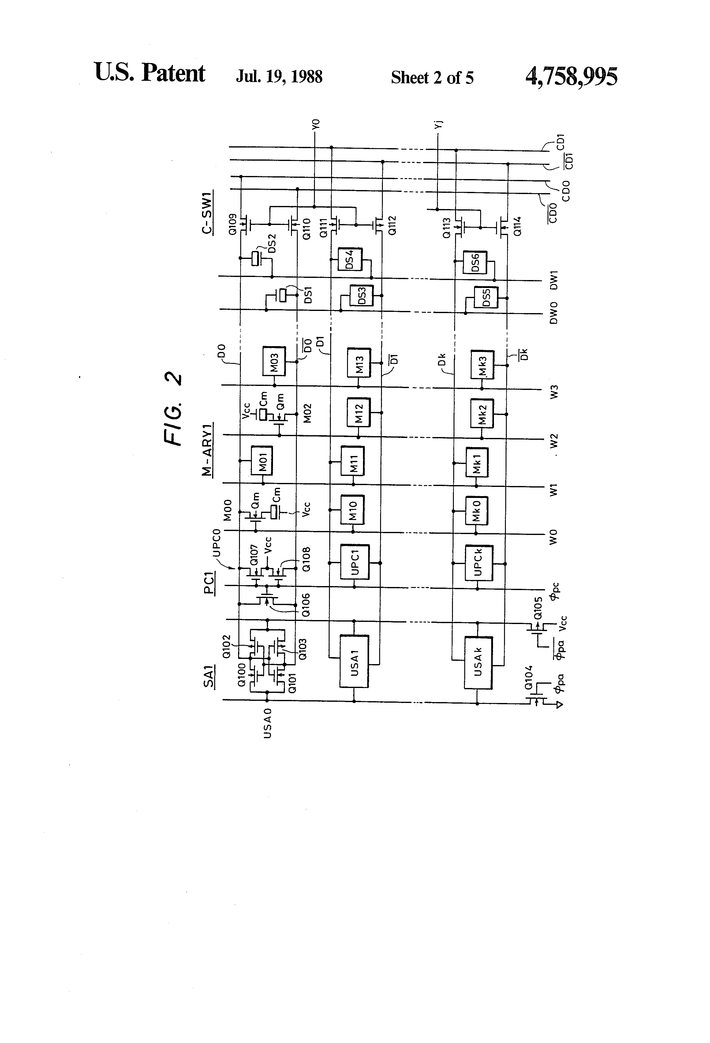 US4758995 2 patent us4758995 semiconductor memory google patents  at gsmx.co