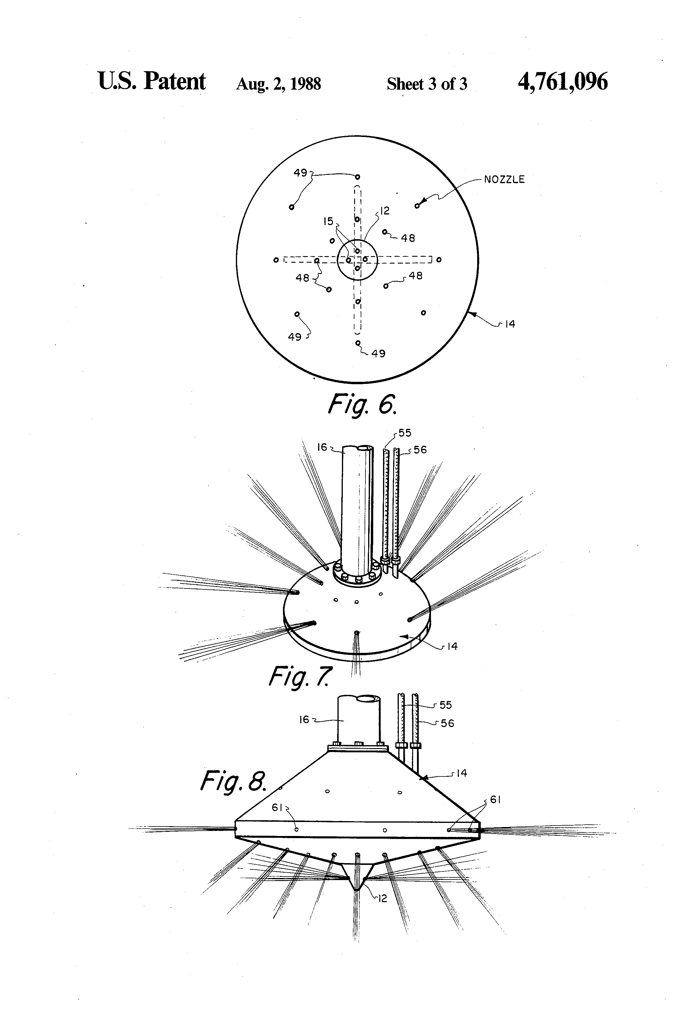 Patent Us4761096 Universal Footing With Jetting System