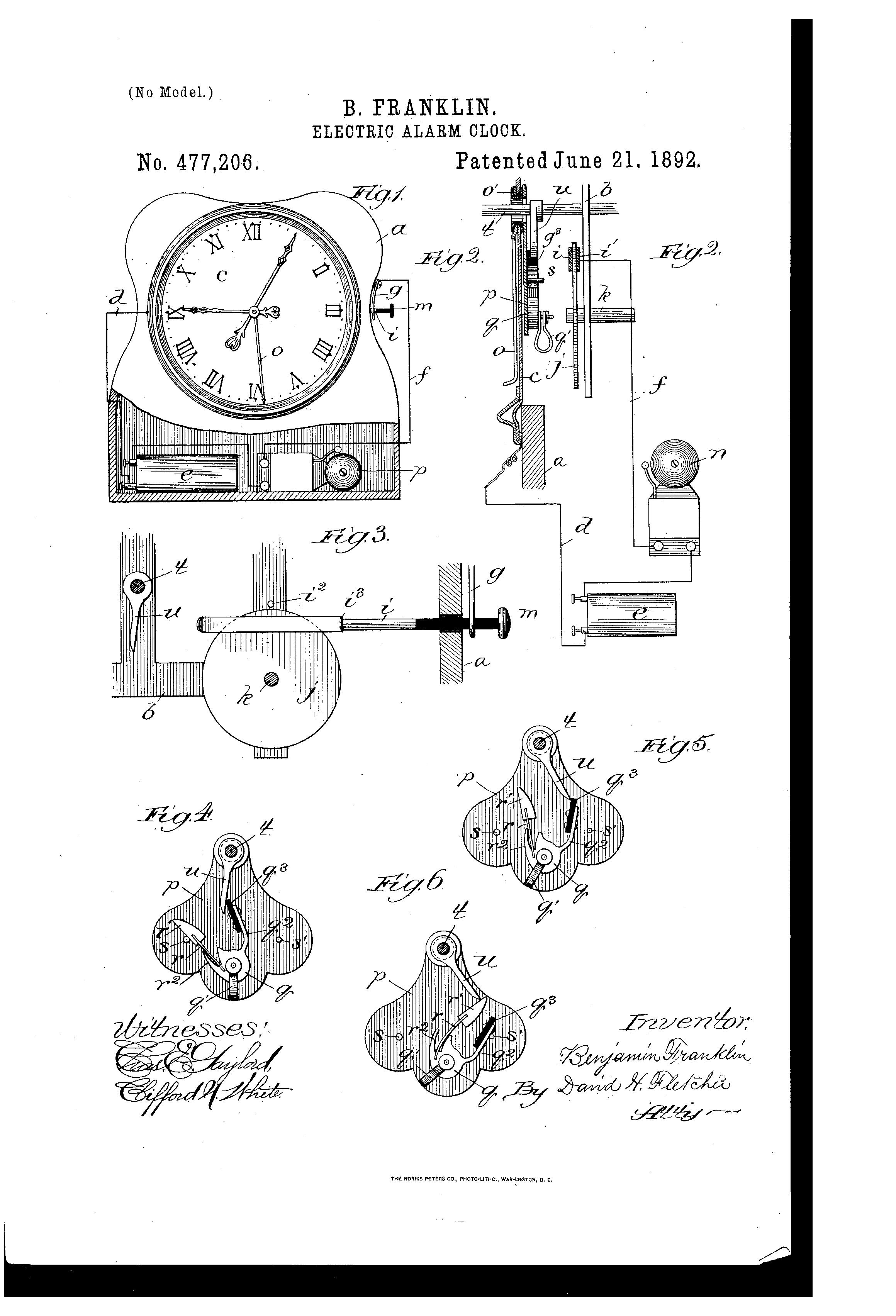 Patent US477206 Benjamin franklin Google Patents – Ben Franklin Worksheets