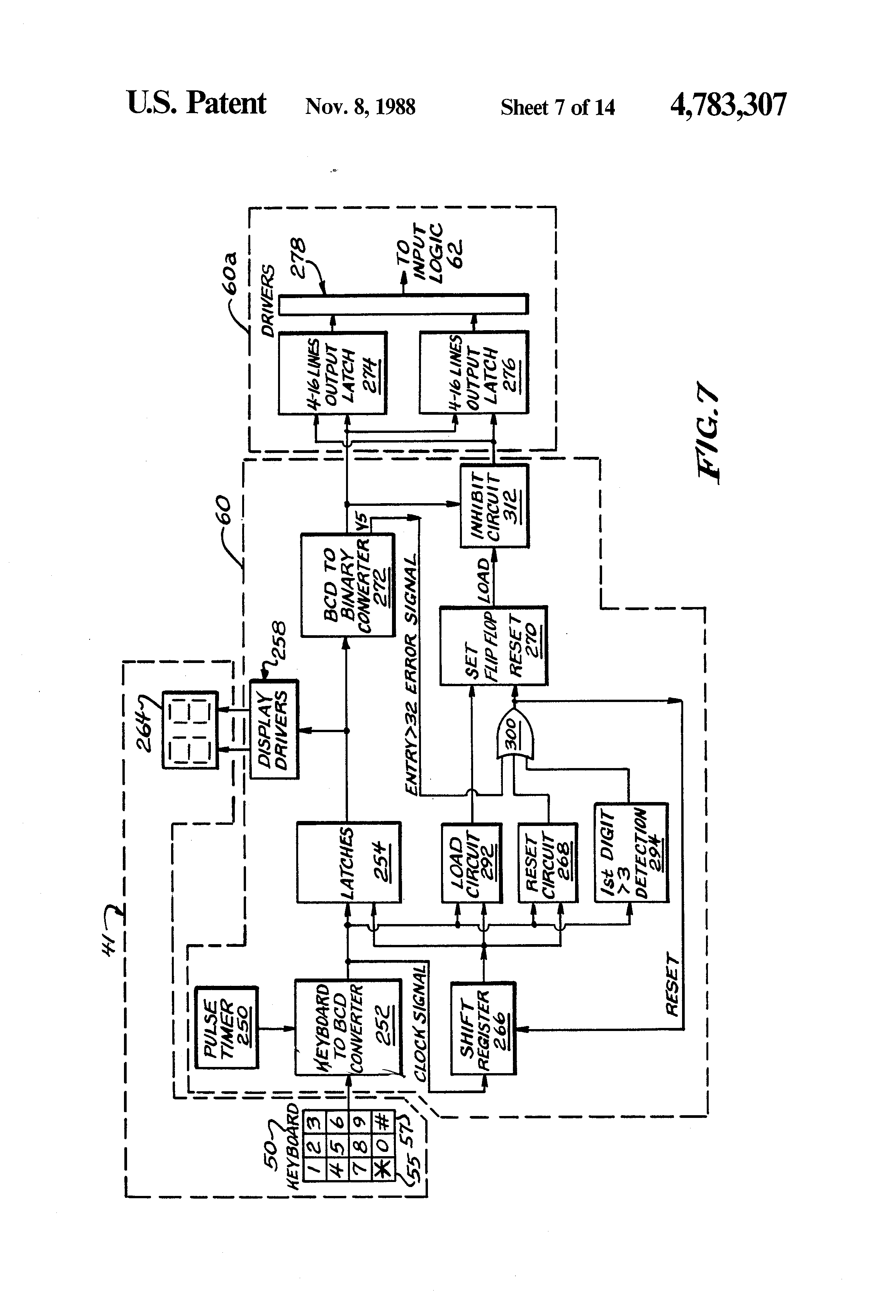 patent us4783307 - reactor control system verification