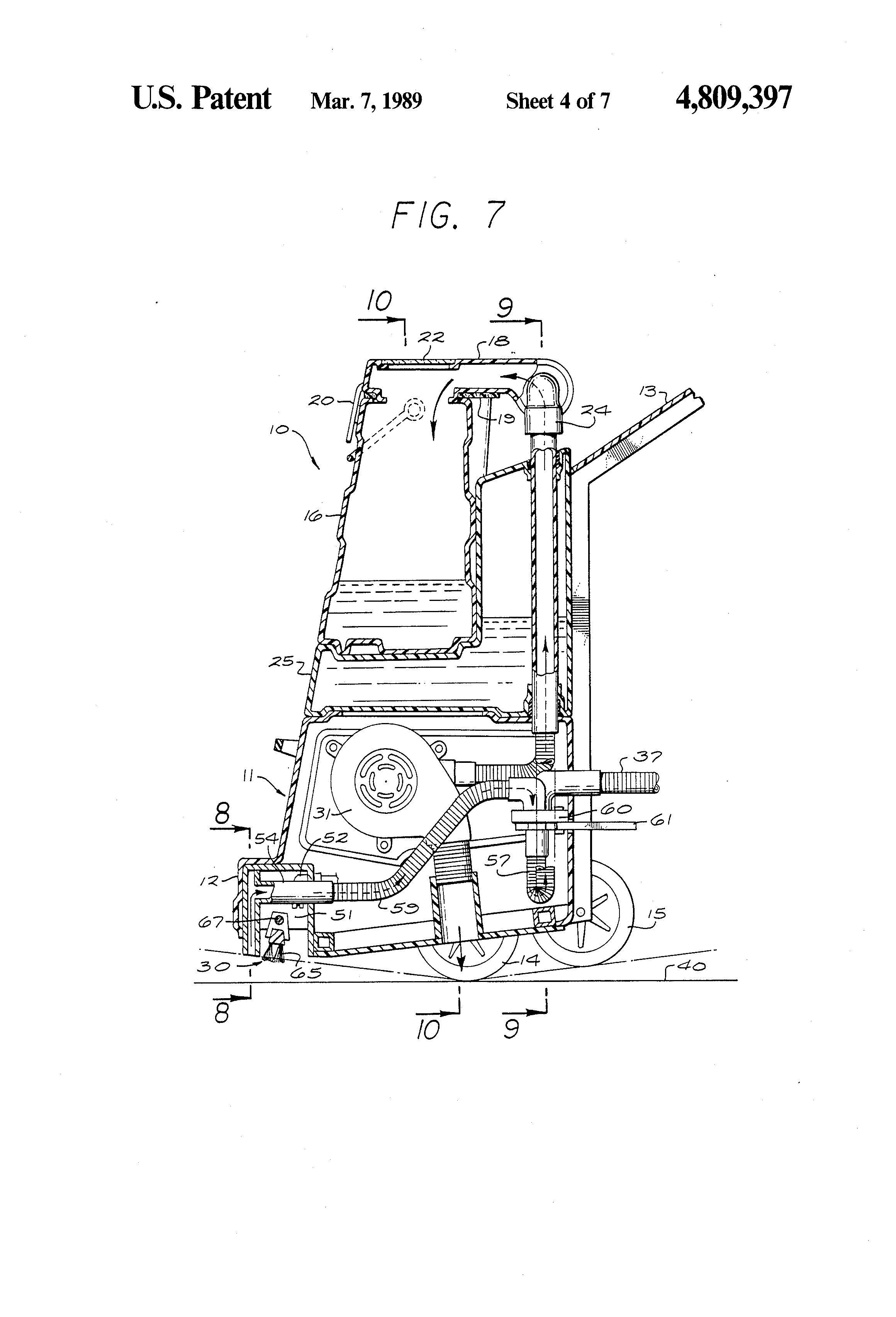 Patent Us4809397 Rug And Carpet Cleaner Google Patenten
