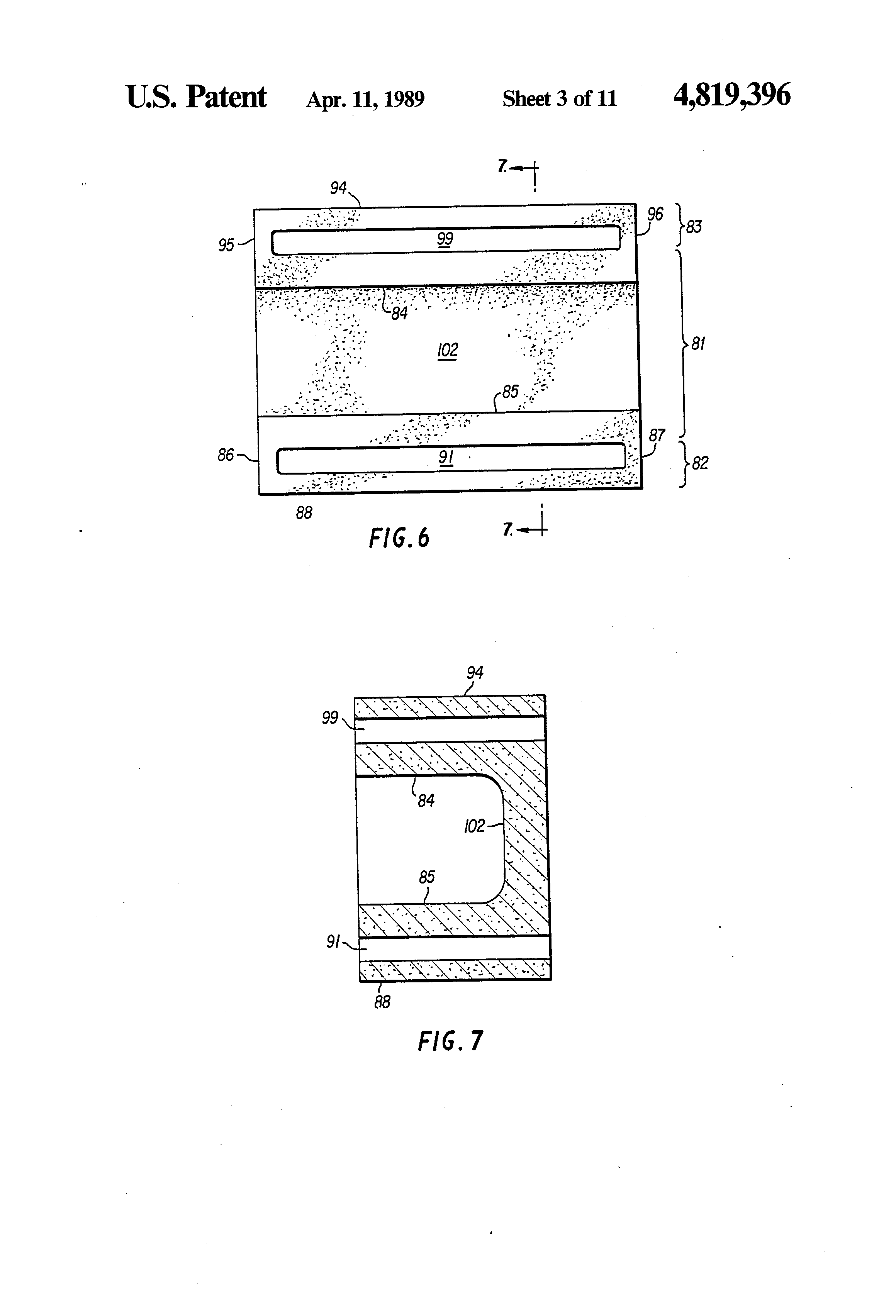 Patent us4819396 insulated concrete masonry unit with for Insulated concrete masonry units