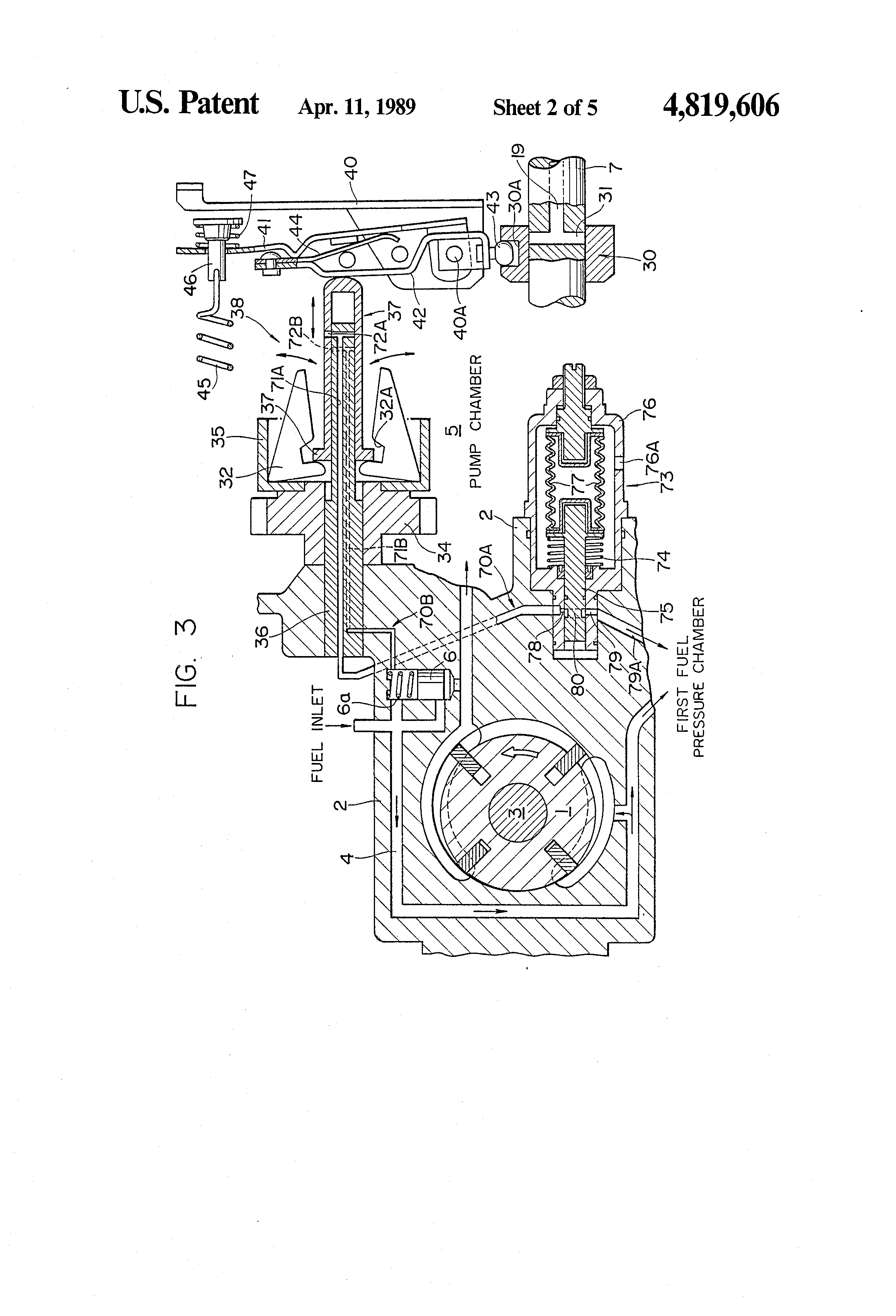 Patent US4819606 - Fuel injection timing control apparatus