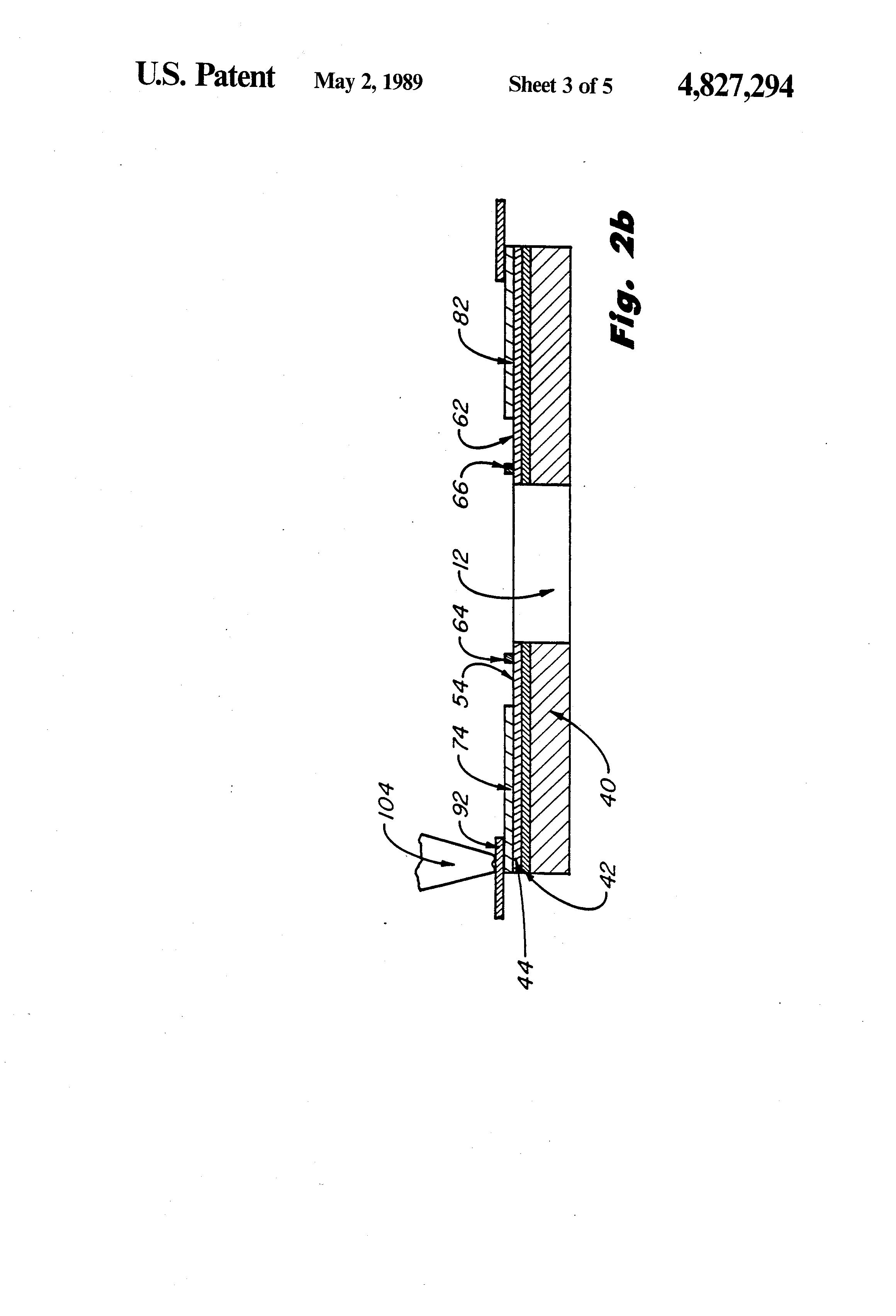 patent us4827294