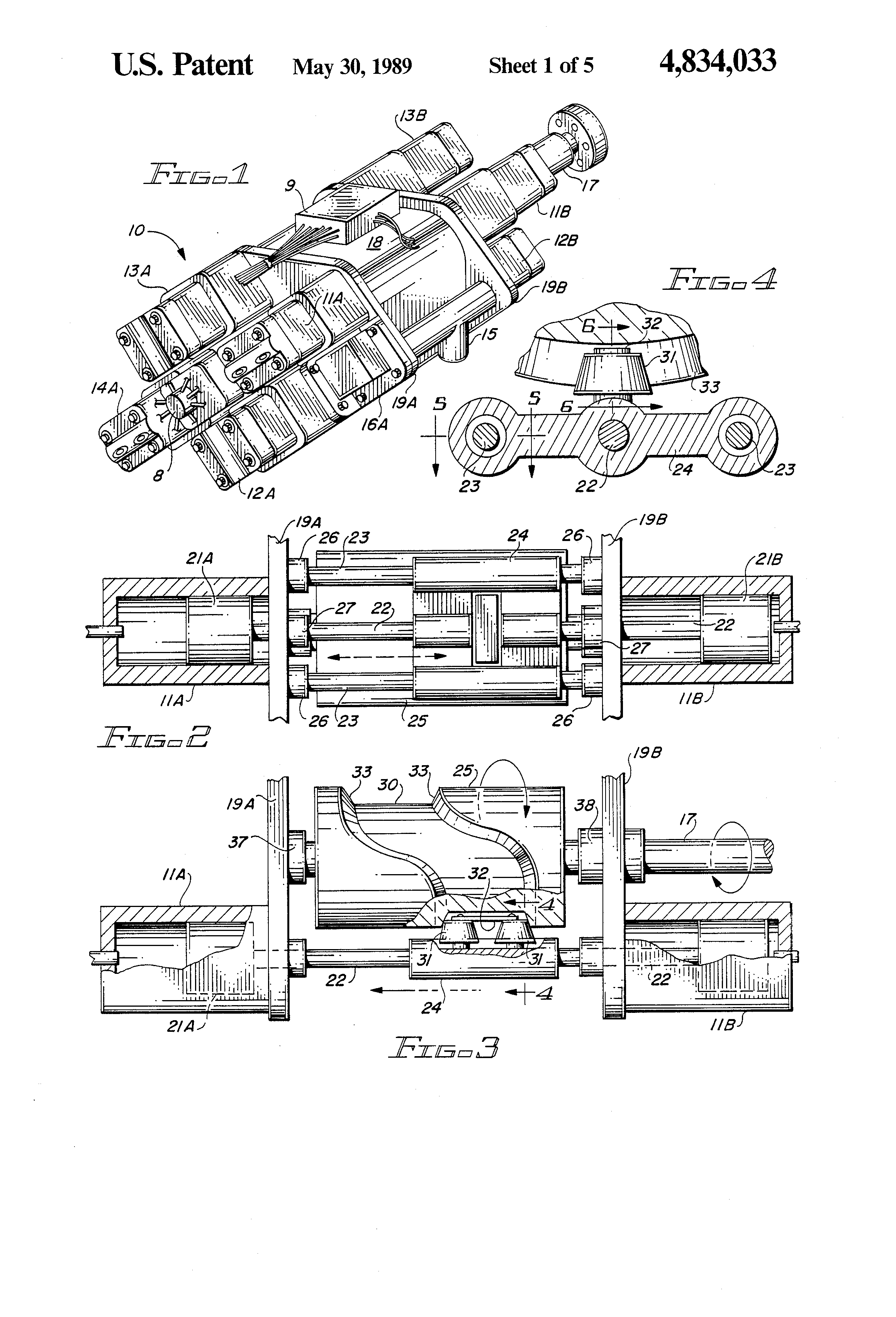 Patent Us4834033 Apparatus And Method For A Balanced Internal Illustrated Diagram Of Basic Combustion Engine Drawing