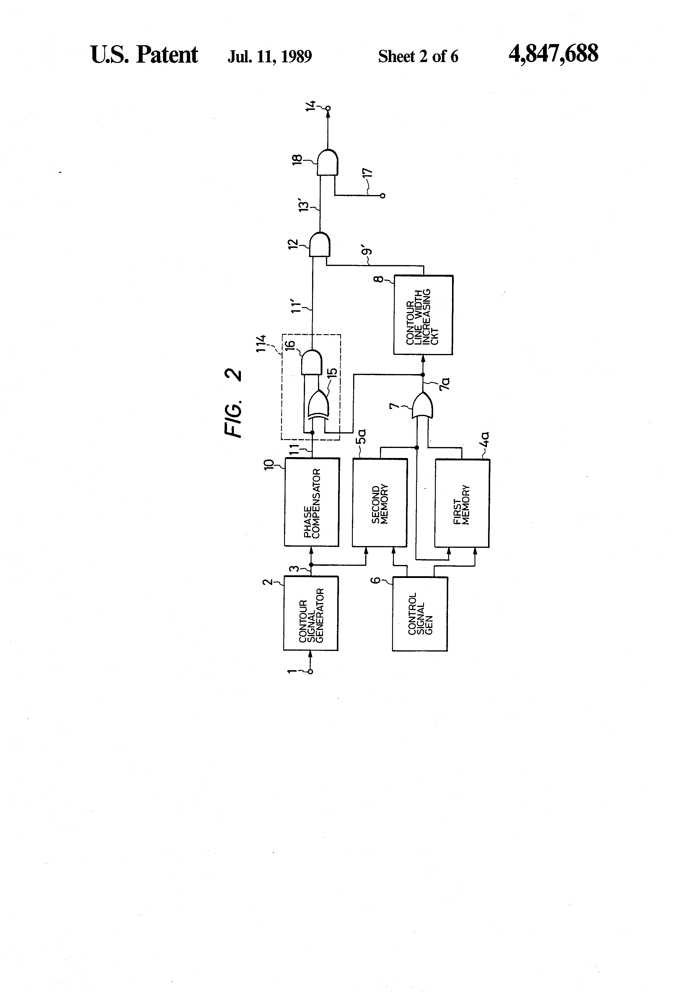 Patent US4847688 - Moving body recognition circuit using