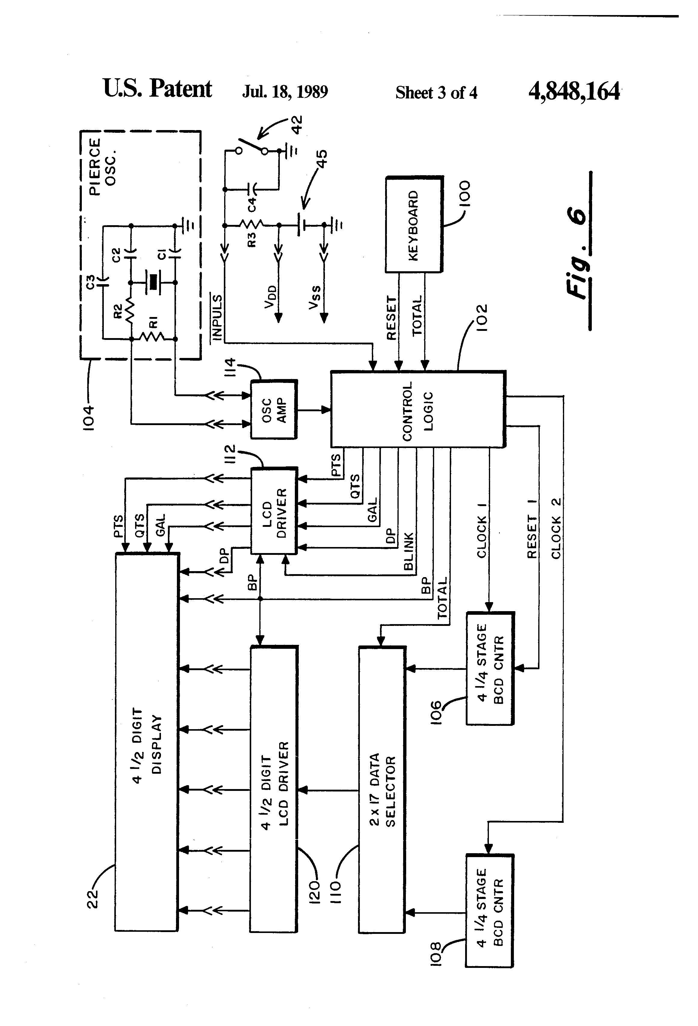 patent us4848164 - liquid flow meter