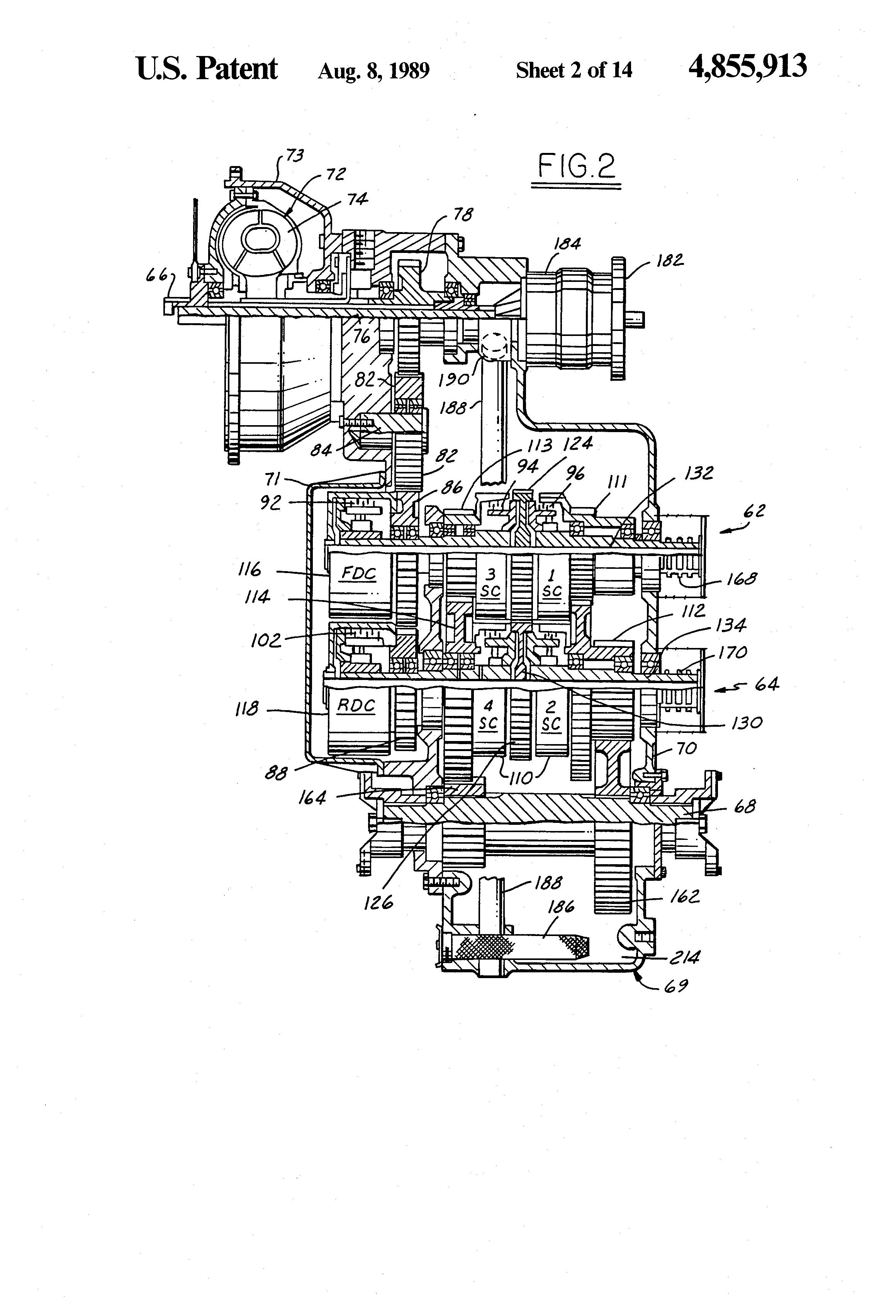 patent us4855913