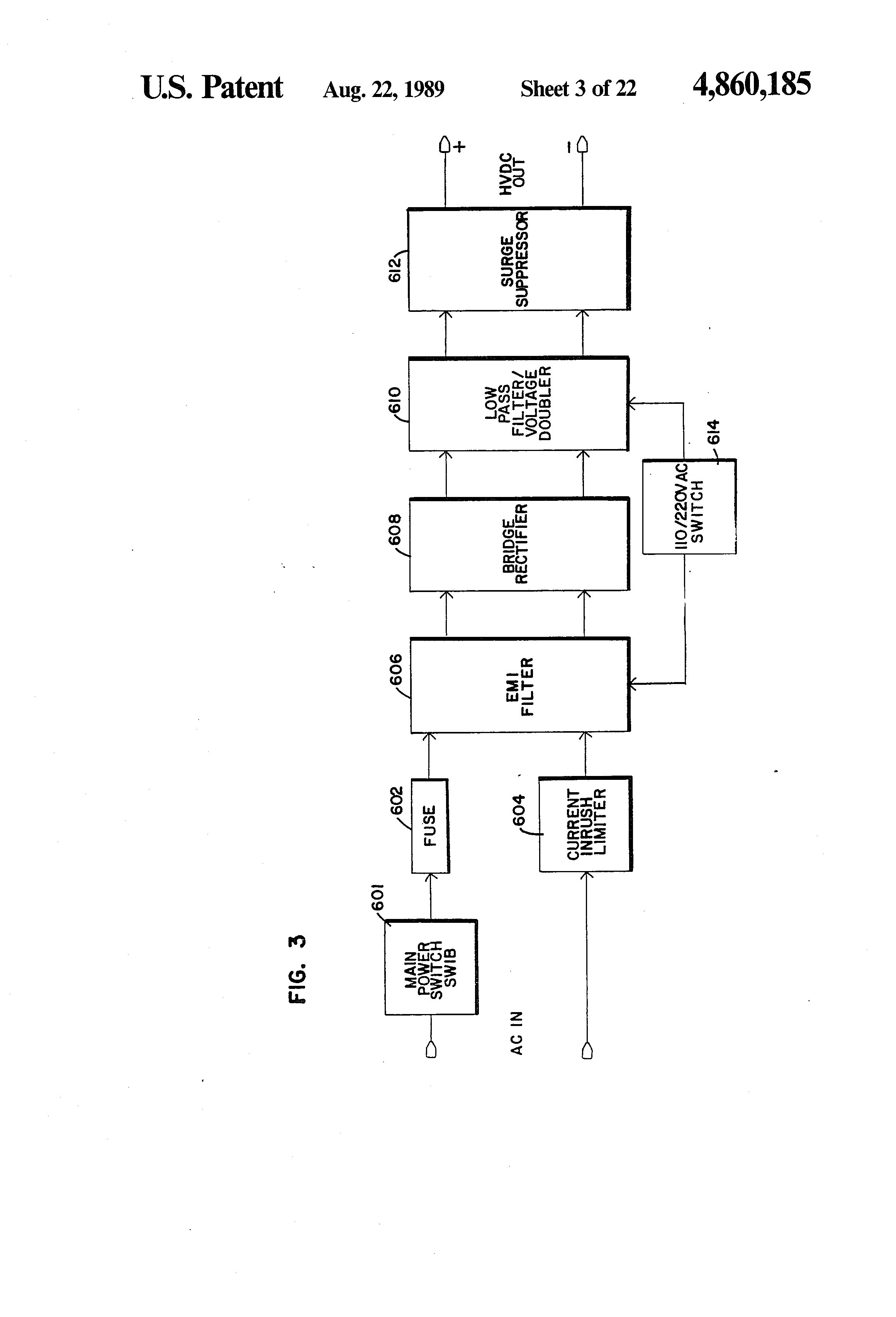 Patent Us4860185 Integrated Uninterruptible Power Supply For Battery Bank Wiring Diagram Moreover Solar Biner Box Drawing