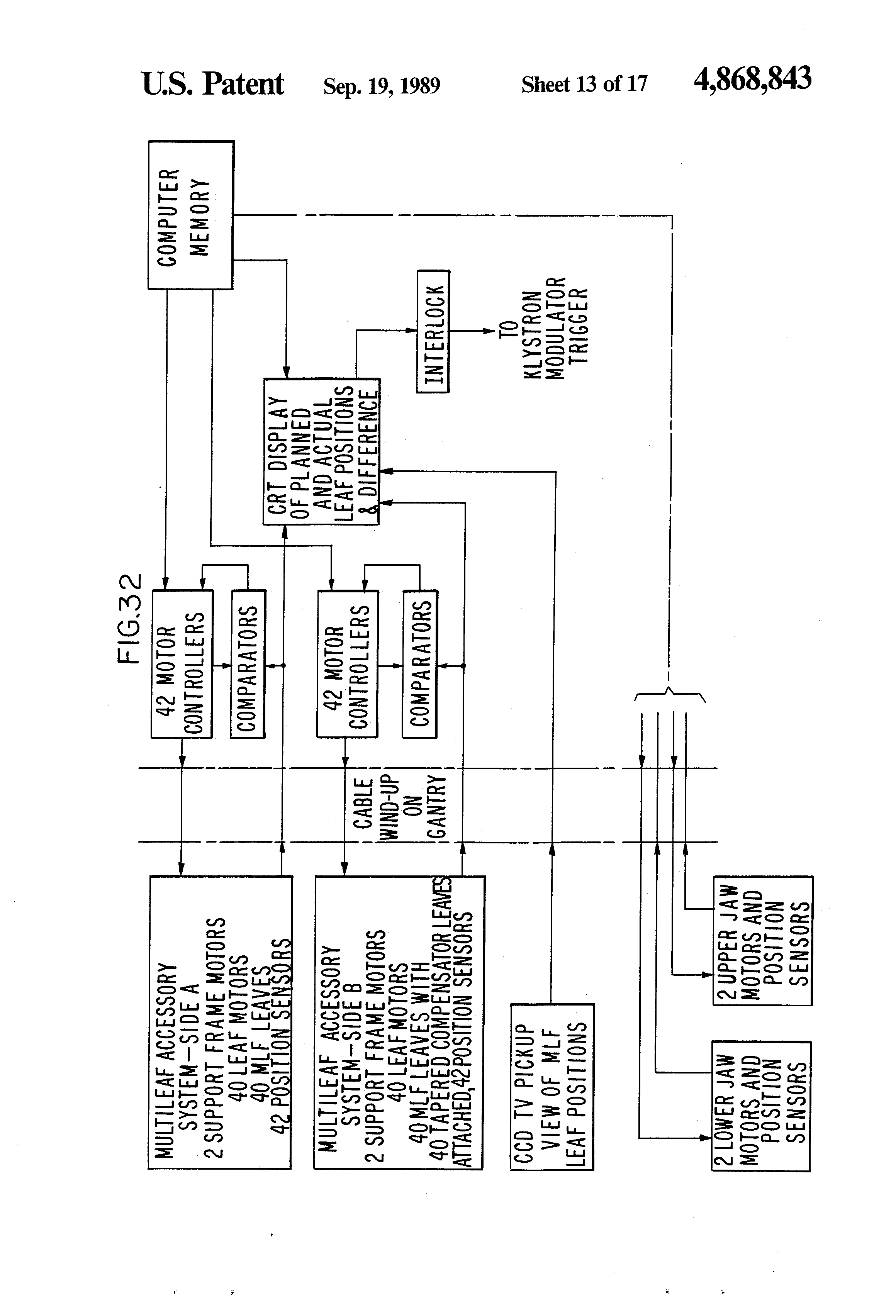 patent us4868843 multileaf collimator and compensator for