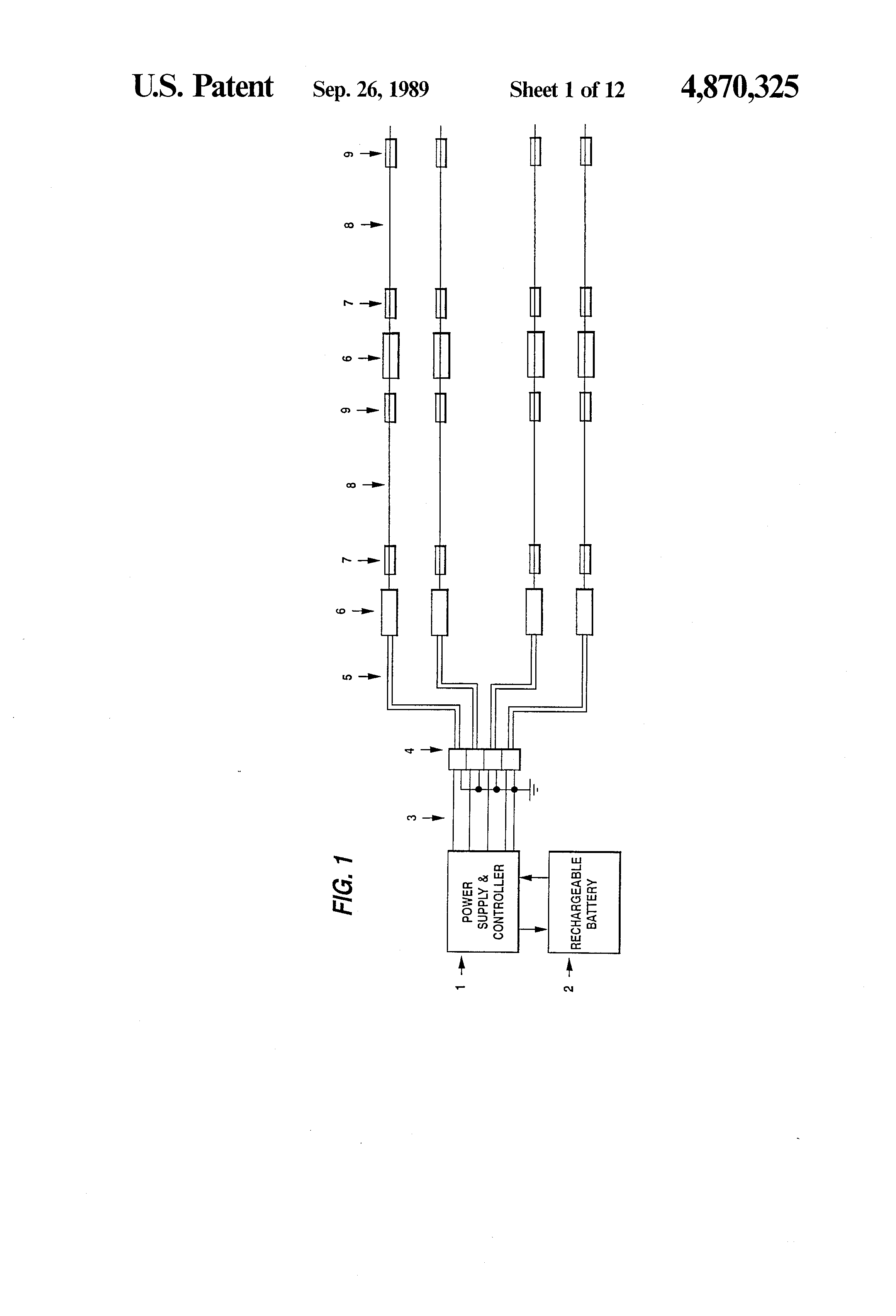 Patent Us4870325 Ornamental Light Display Apparatus Google Patents Three Led Flasher By 3 Transistor Astable Multivibrator Drawing
