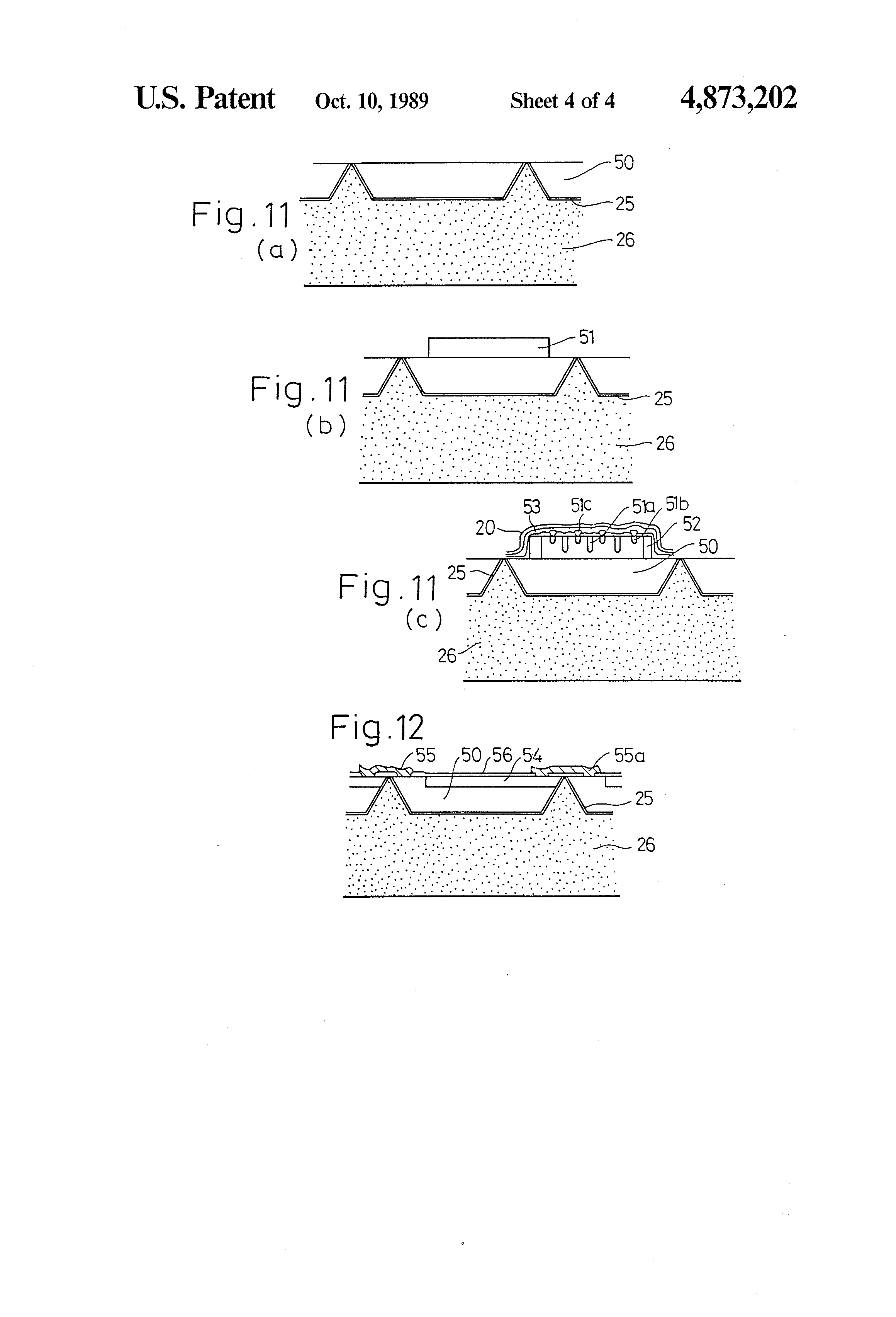 Patent Us4873202 Solid State Relay And Method Of Manufacturing The Transistors Equivalent Circuit A Electrical Drawing