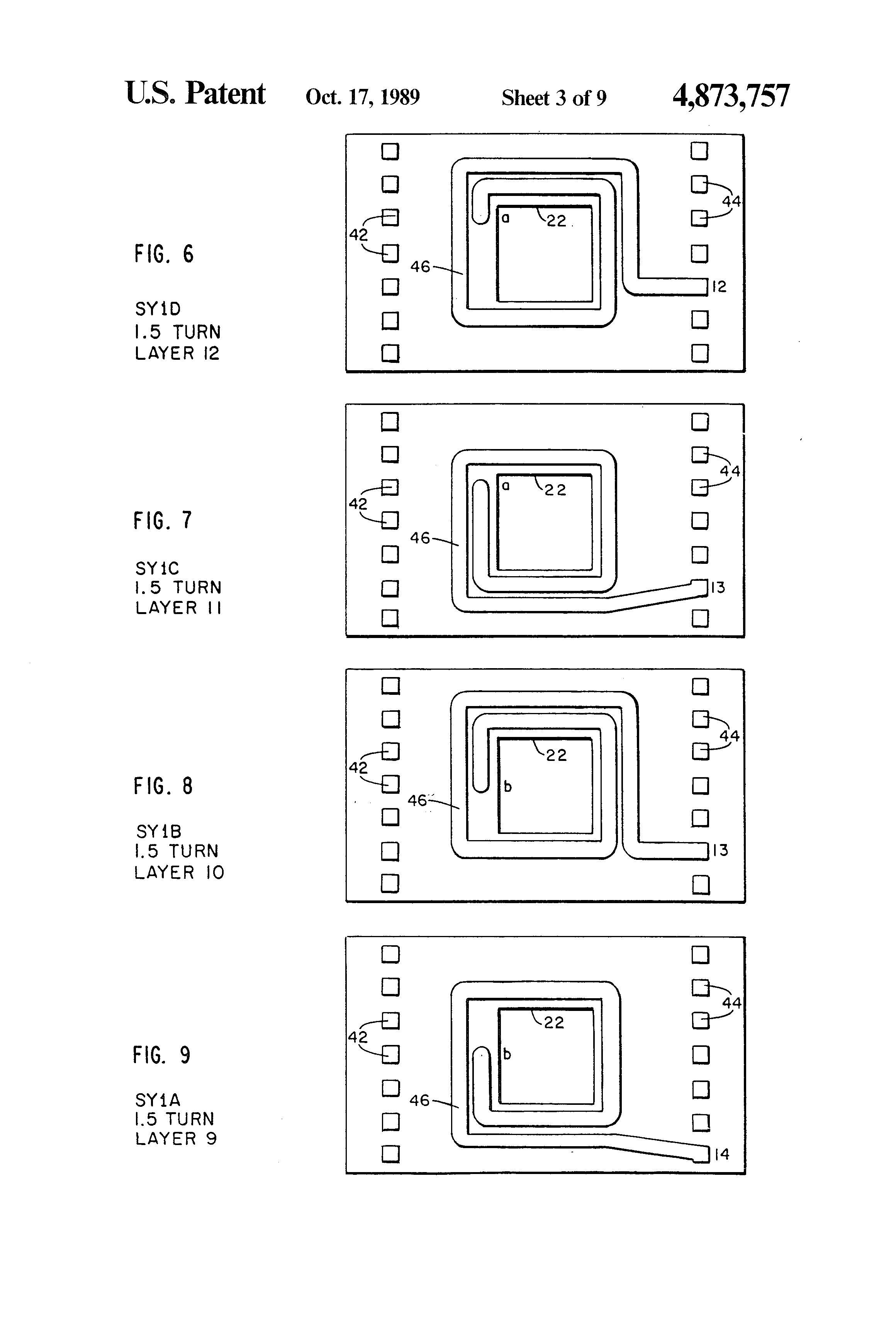 patent us4873757
