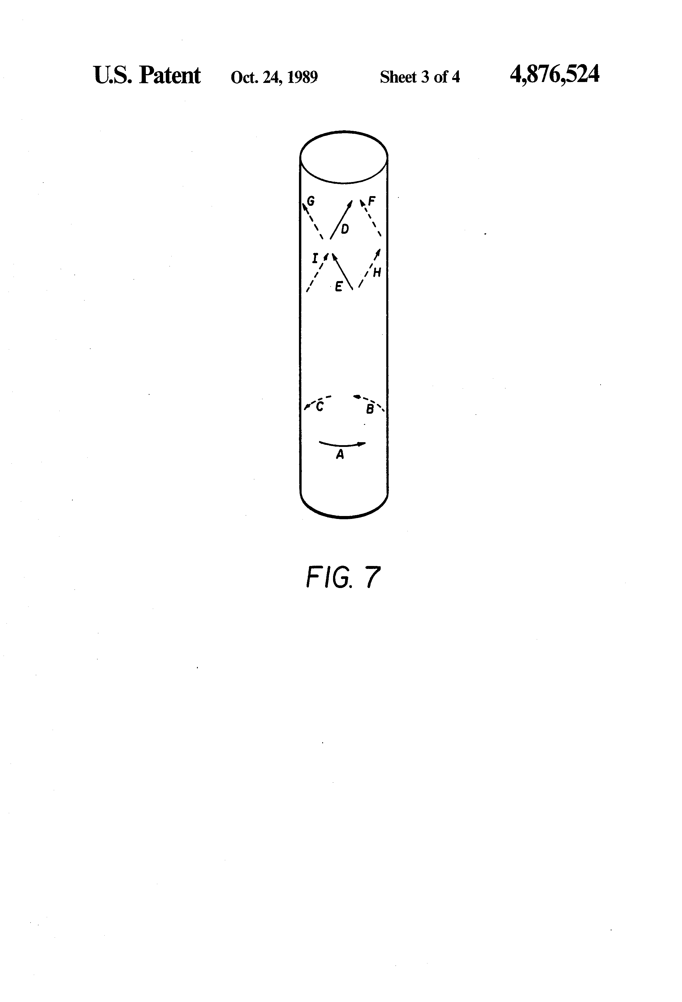 Patent Us4876524 Six Axis Joystick Control Google Patents Converter Connected To Measure Ratiometric Values Of Quad Load Cells Drawing