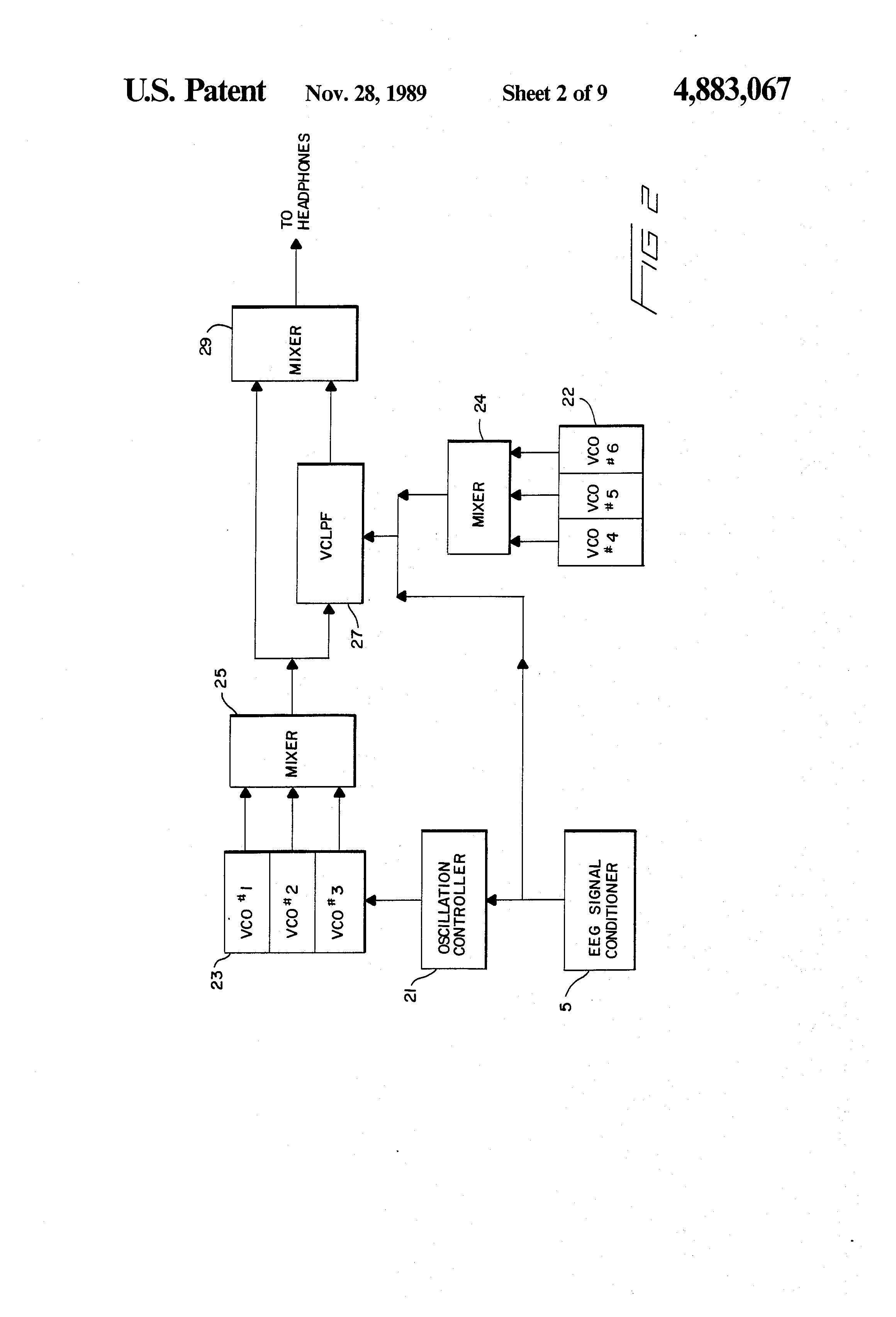 Patent Us4883067 Method And Apparatus For Translating The Eeg Into Schematic Drawing