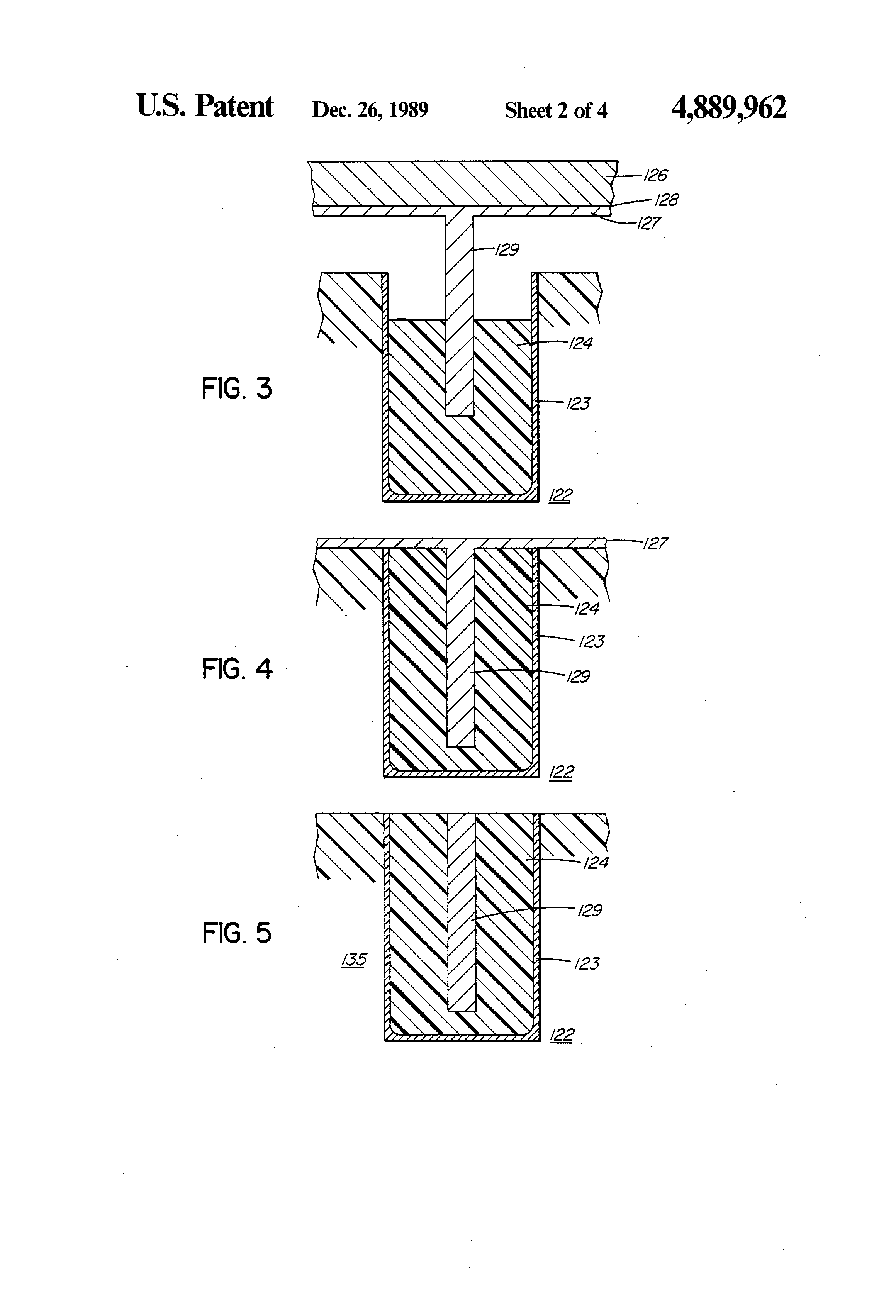 patent us4889962 - circuit board with coaxial circuit and method therefor