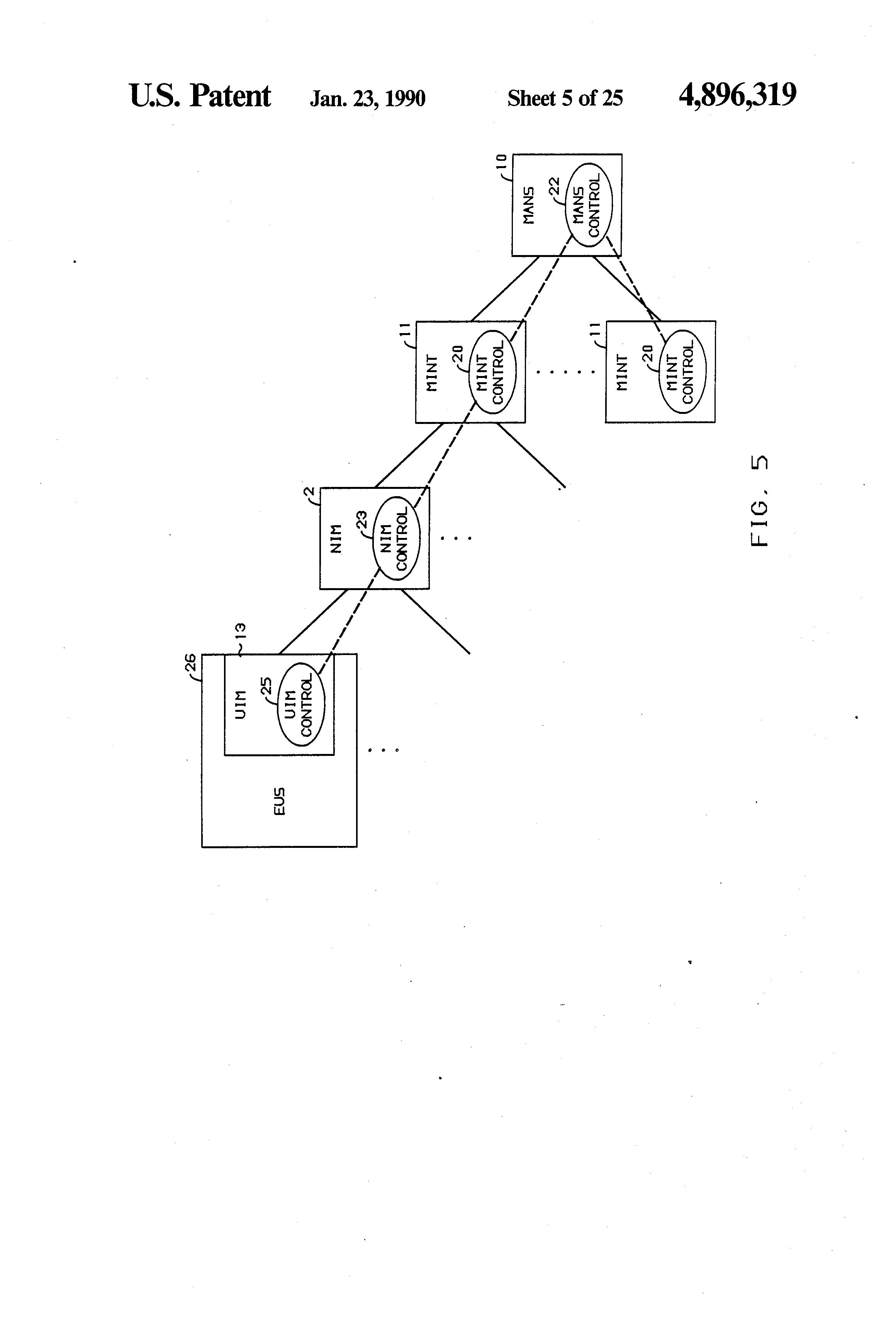 Patent Us4896319 Identification And Authentication Of End User Figure 9 The Block Diagram Iocs Algorithm Abbreviations Drawing