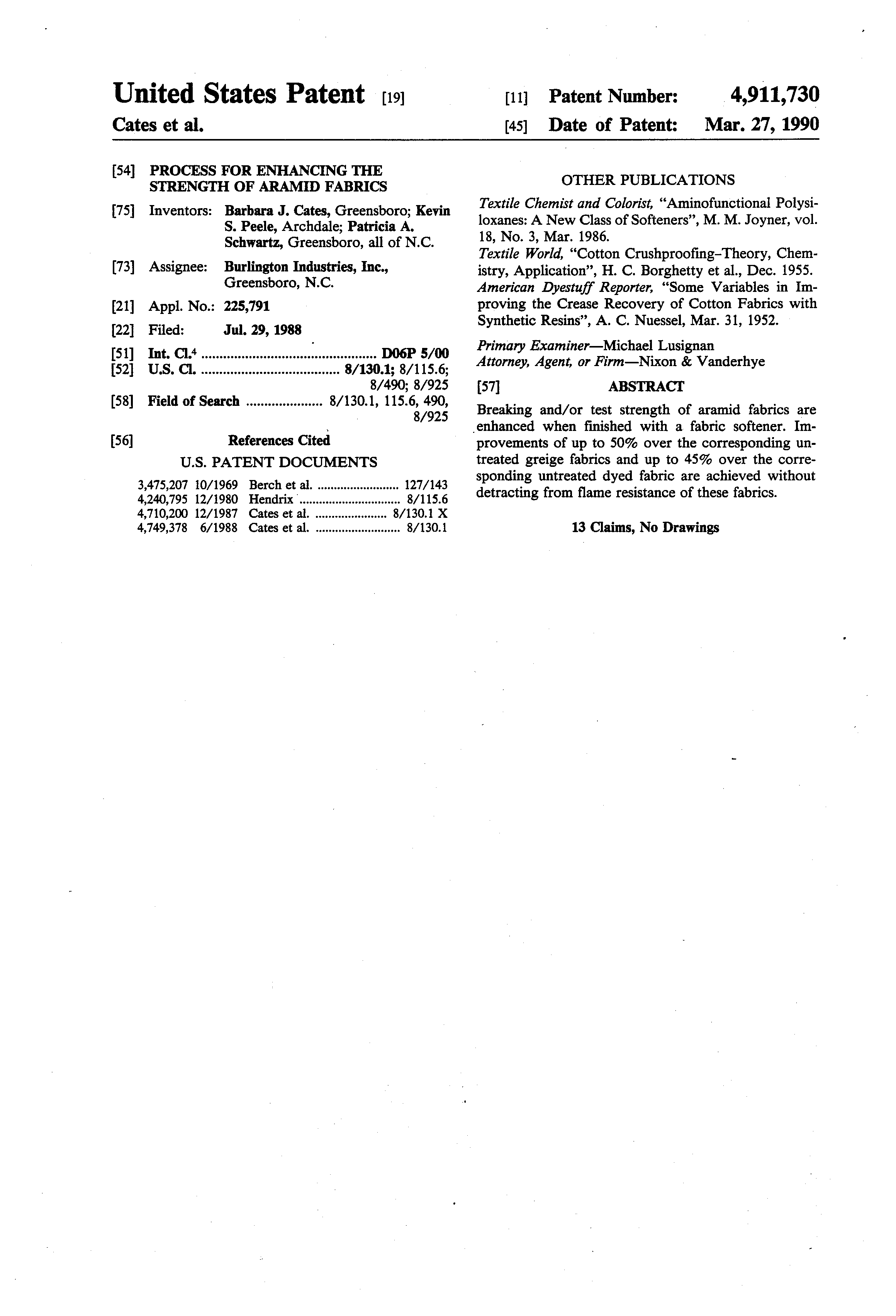 patent us process for enhancing the strength of aramid patent drawing