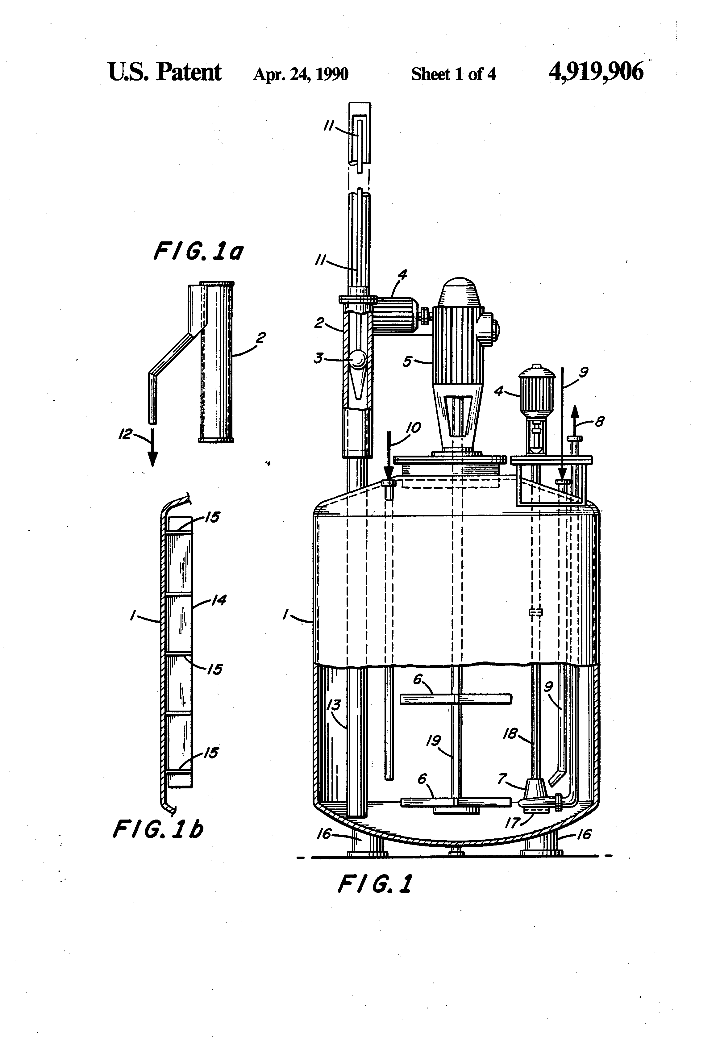Patent Us4919906 Processes And Equipment For Production