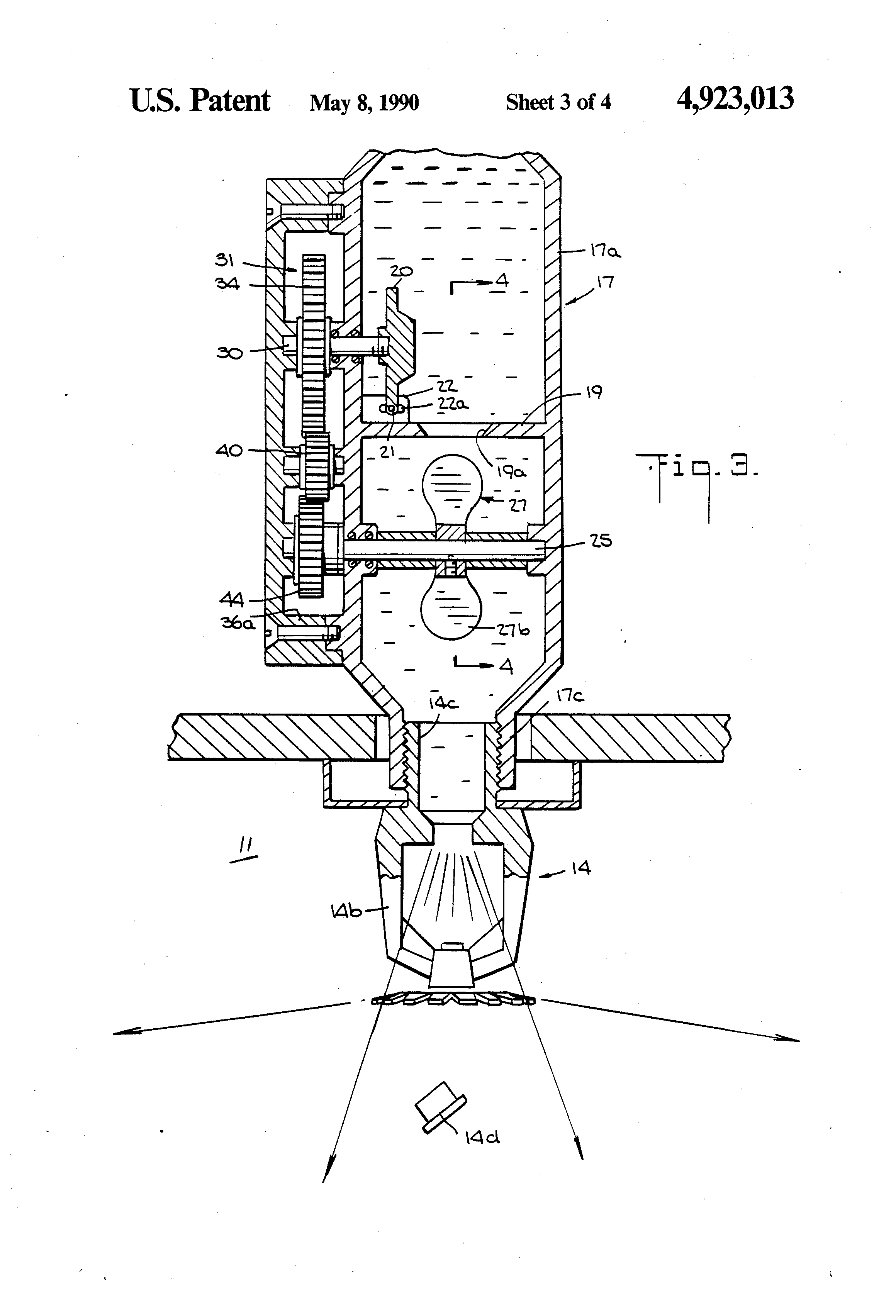 patent us4923013 - fire sprinkler system and automatic shut-off valve therefor