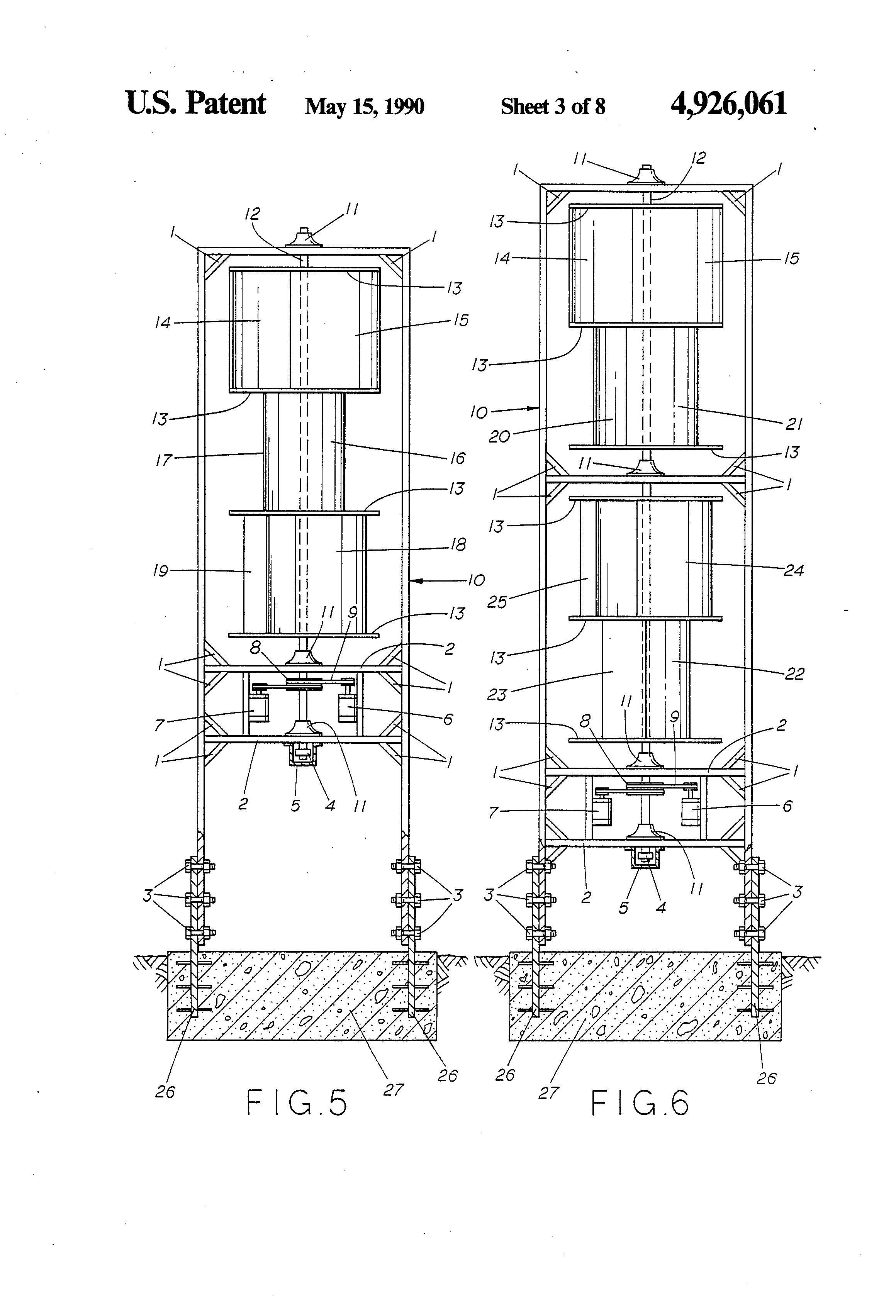 patent us4926061 - windtrap energy system