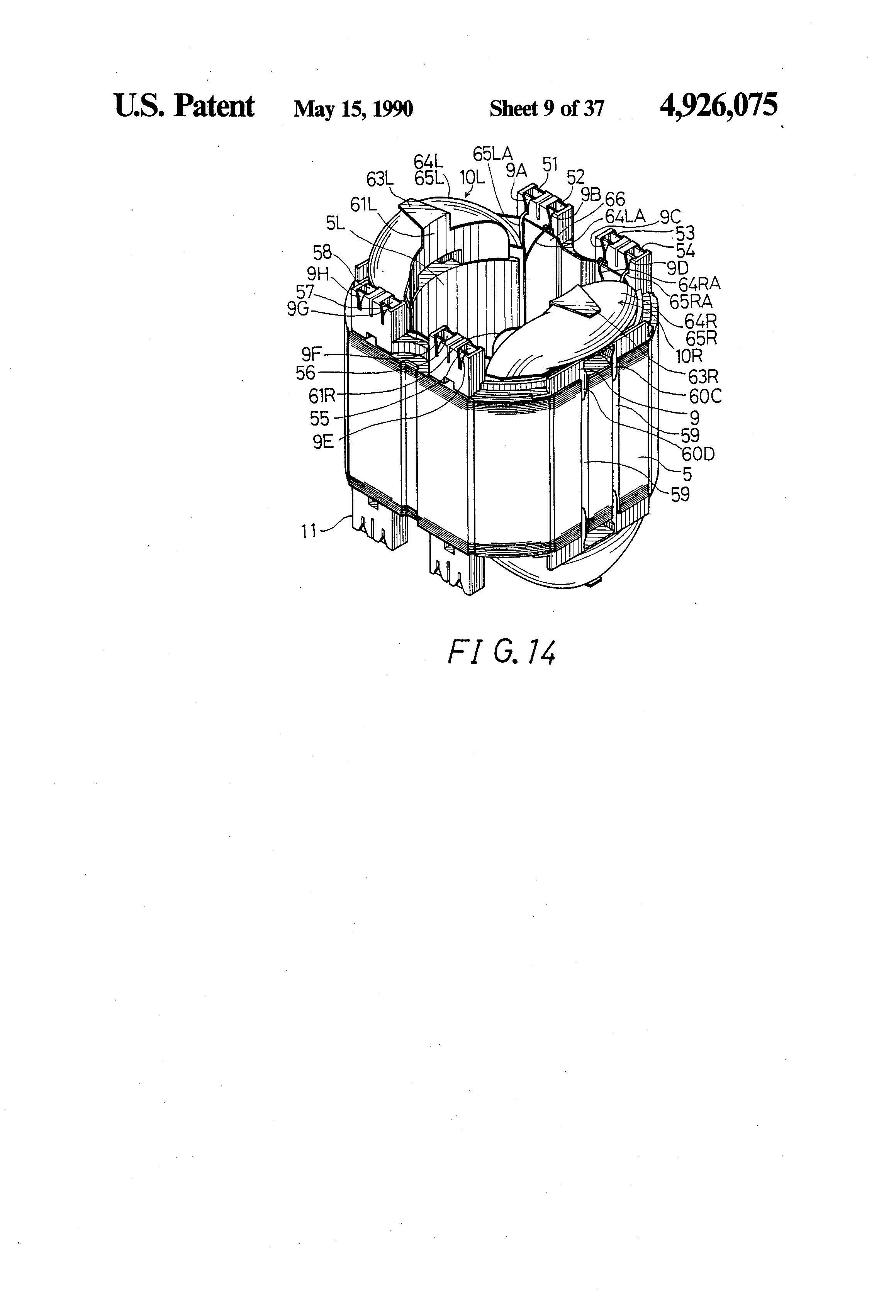 electric motor brush diagram. Patent Drawing Electric Motor Brush Diagram L